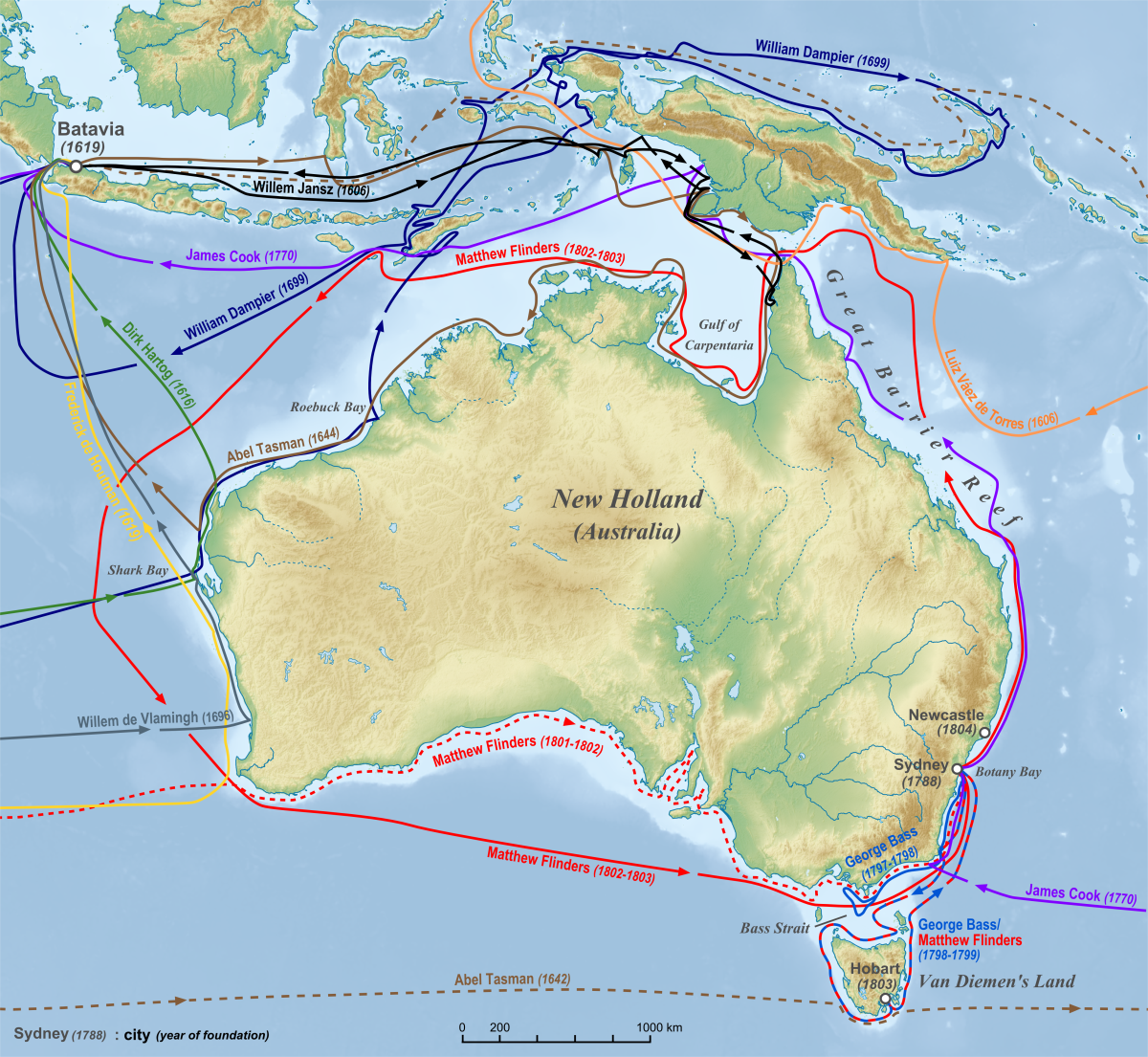 european maritime exploration of australia wikipedia