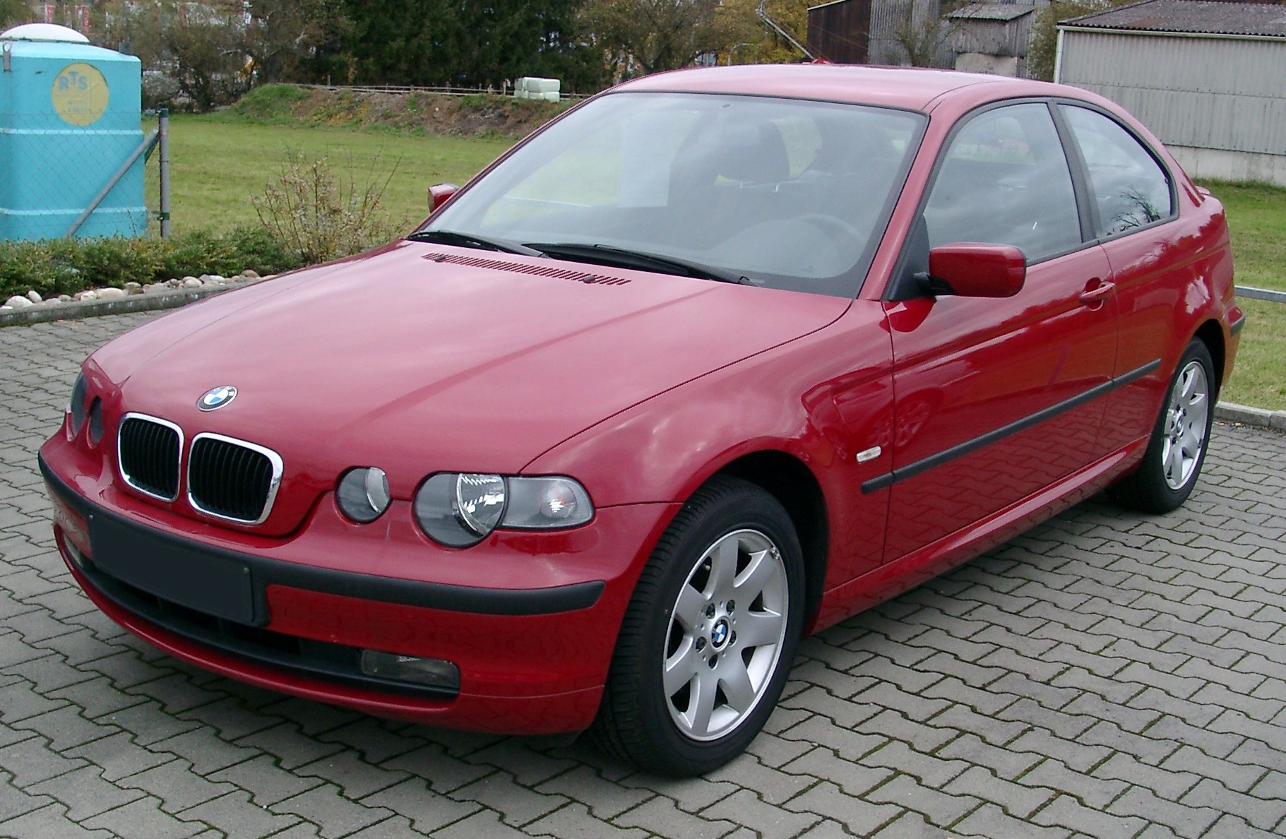 file bmw e46 compact front wikimedia commons. Black Bedroom Furniture Sets. Home Design Ideas
