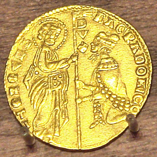 Italian Coin Face Painting