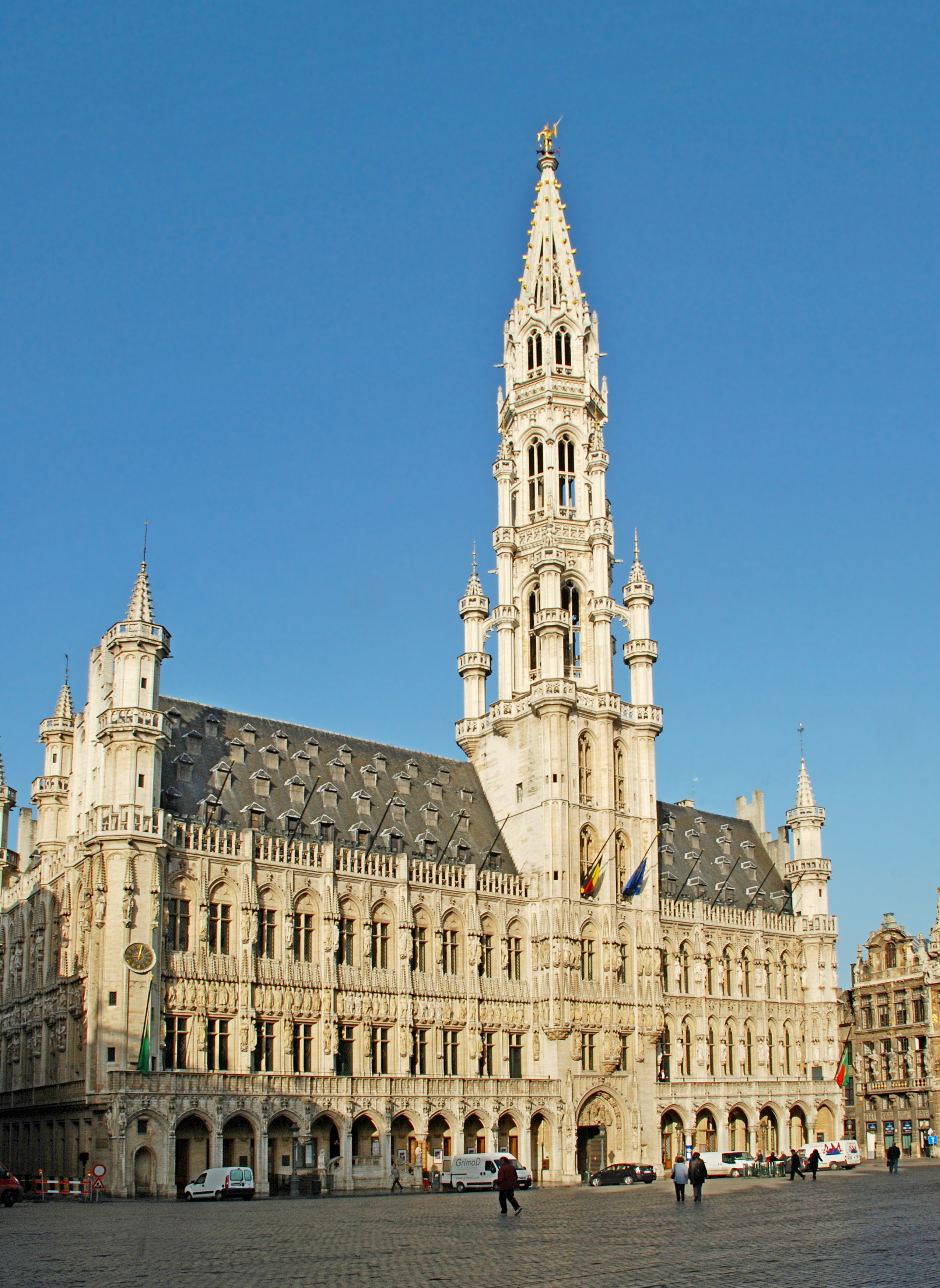 Outstanding Brussels Town Hall Wikipedia Home Interior And Landscaping Ymoonbapapsignezvosmurscom