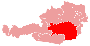 Map of the Deanery Graz-North
