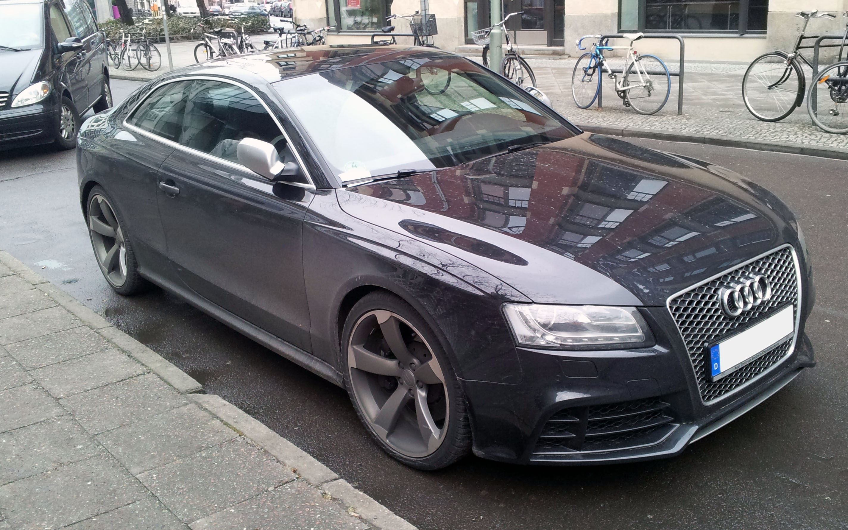 Audi Rs5 2012 Black Www Pixshark Com Images Galleries