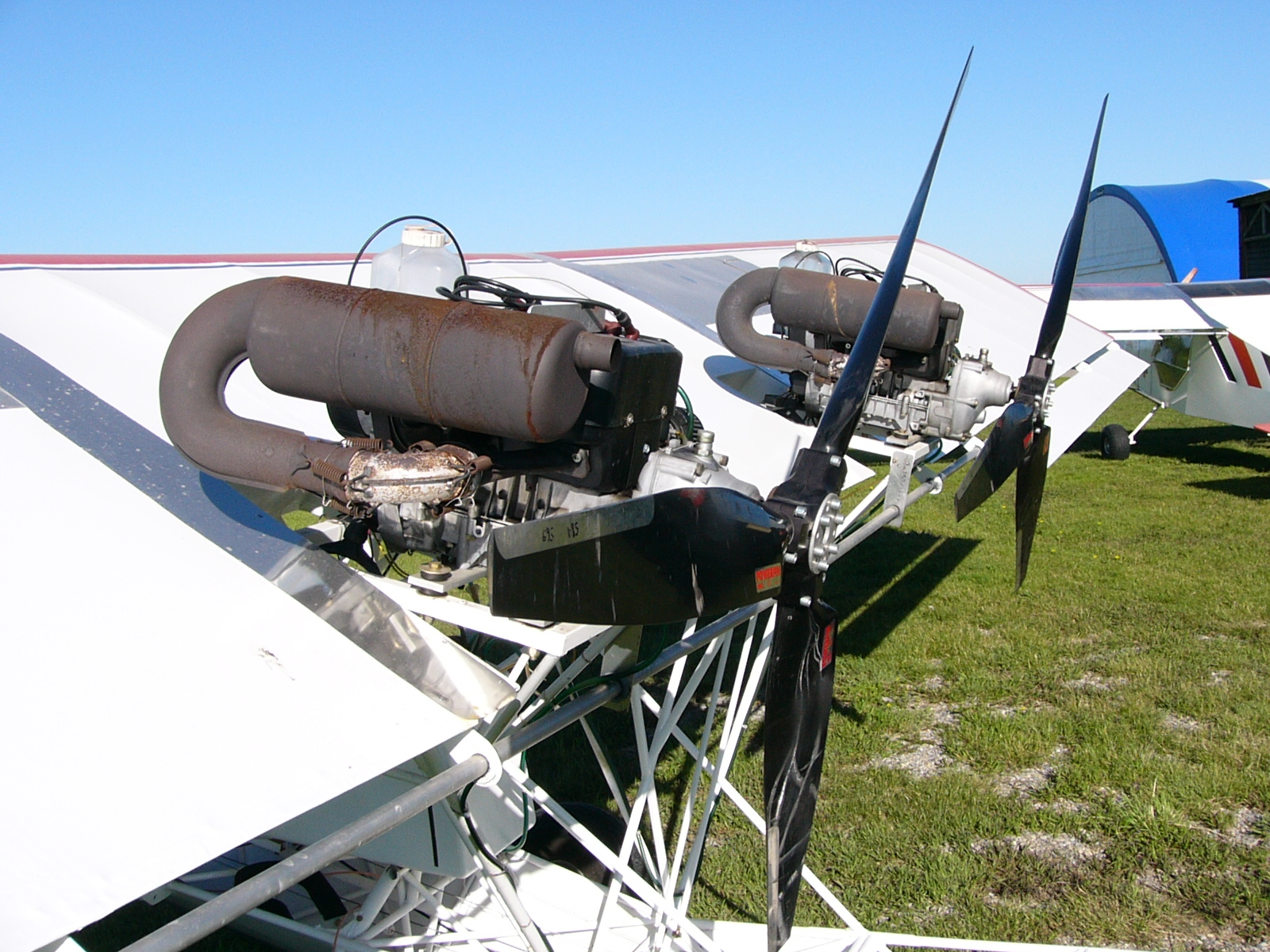 Twin Engine EZ Flyer