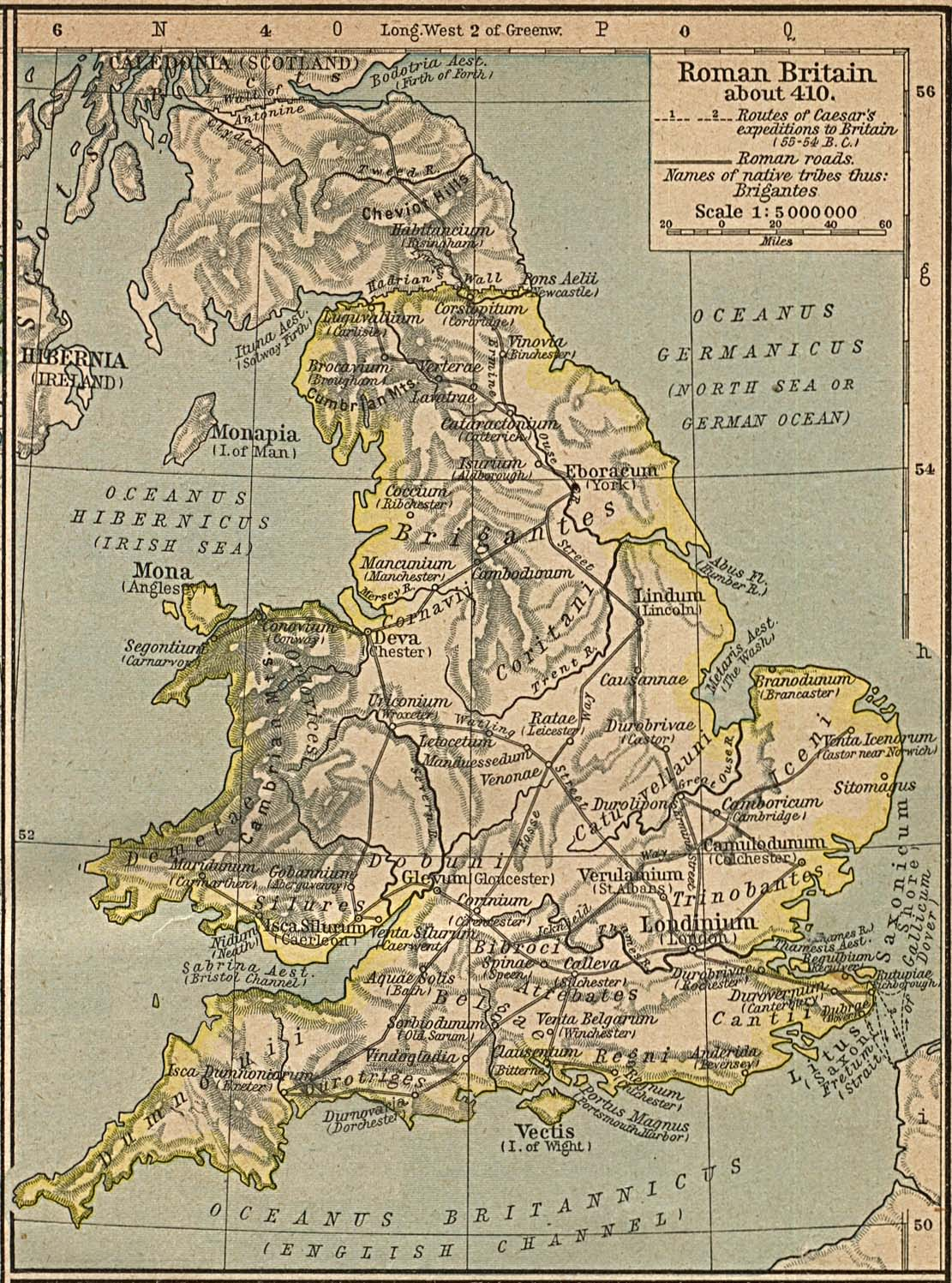 roman britain Roman britain: the romans ruled britain for more than 300 years in 55 bc the roman general julius caesar led his army across the sea from gaul to britain.