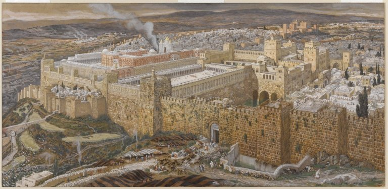 File:Brooklyn Museum - Reconstruction of Jerusalem and the Temple of Herod (Réconstitution de Jérusalem et du temple d'Hérode) - James Tissot.jpg