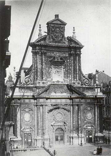 Bruxelles, anienne église des Augustins (c1880).jpg