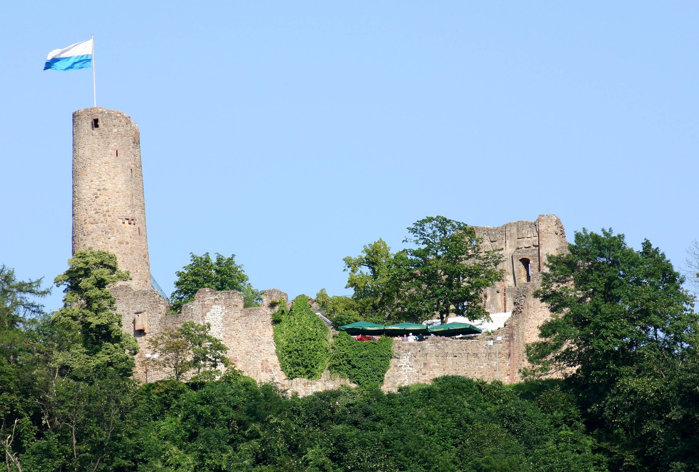 Castle Plans Burg Windeck Weinheim Wikiwand
