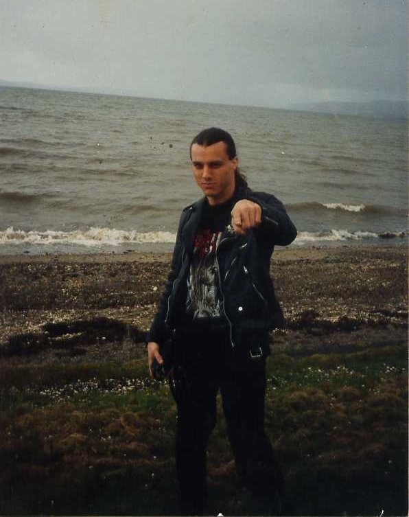 chuck schuldiner tattoo - photo #36