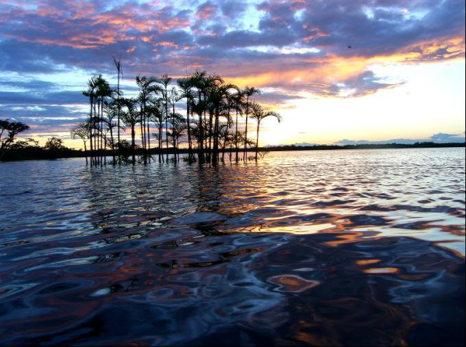 Cuyabeno Reserve, Laguna Grande