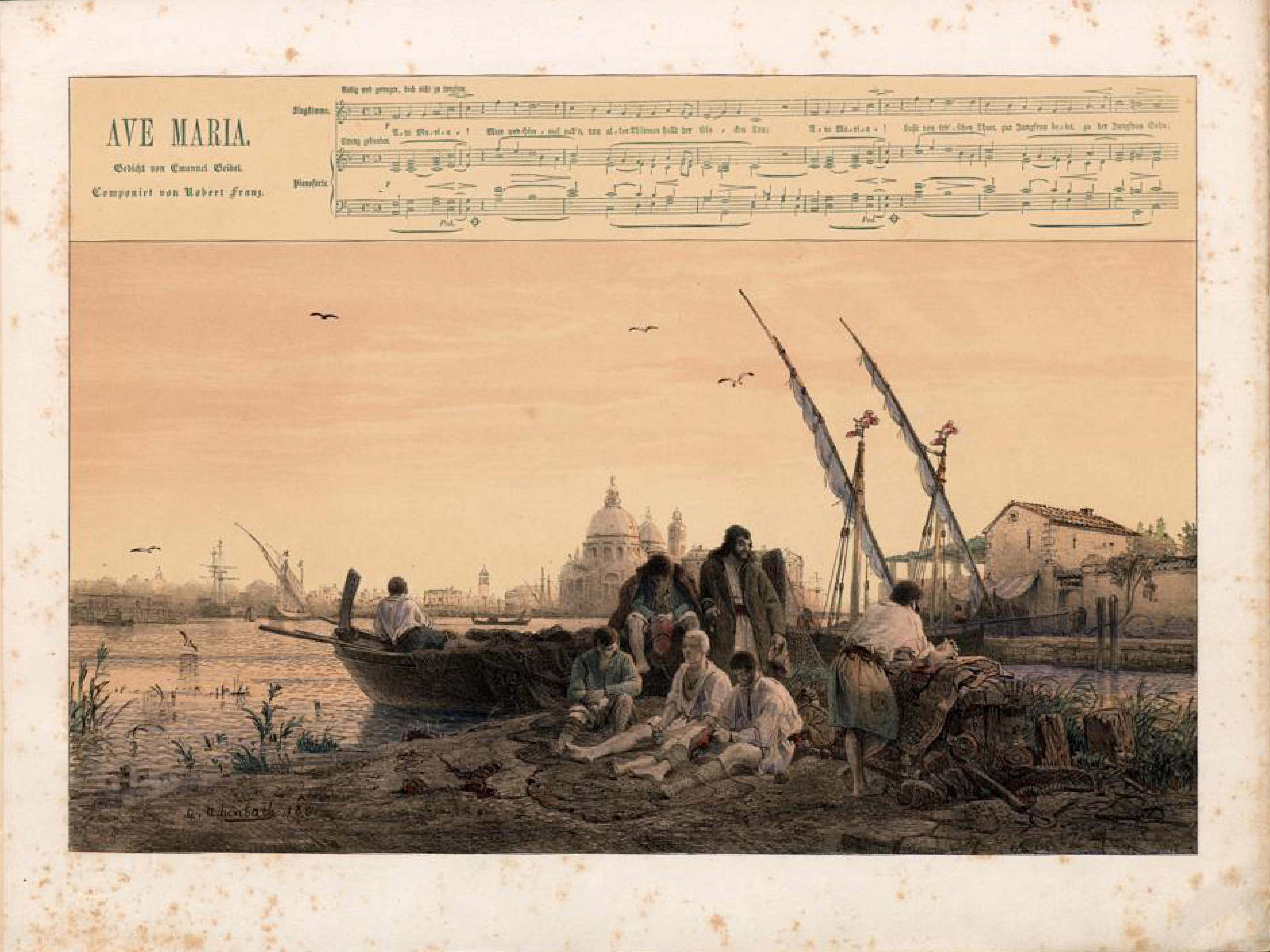 Filedüsseldorfer Lieder Album Arnz Co 1851 S 21