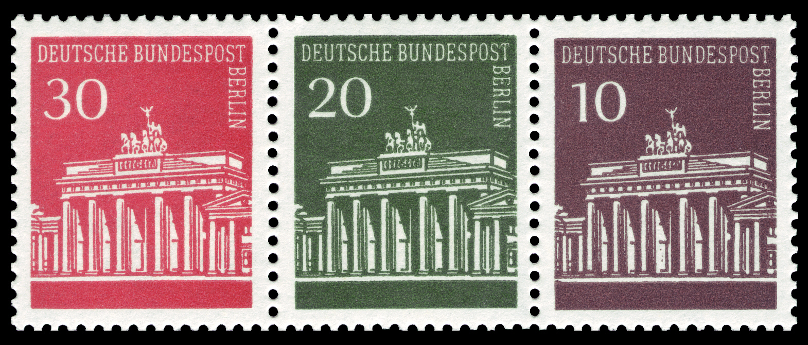 Brandenburger Tor Briefmarkenserie Wikipedia