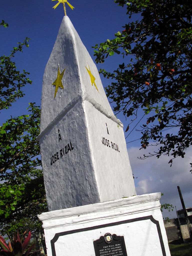 philippines and rizal Seal of the province of rizal: federalism in the philippines is simply a ploy to give the bangsamoro an islamic state bangsamoro is poison religion must never rule.