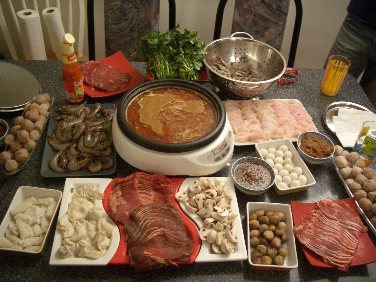 Hot pot wikipedia for Cuisine vietnamienne