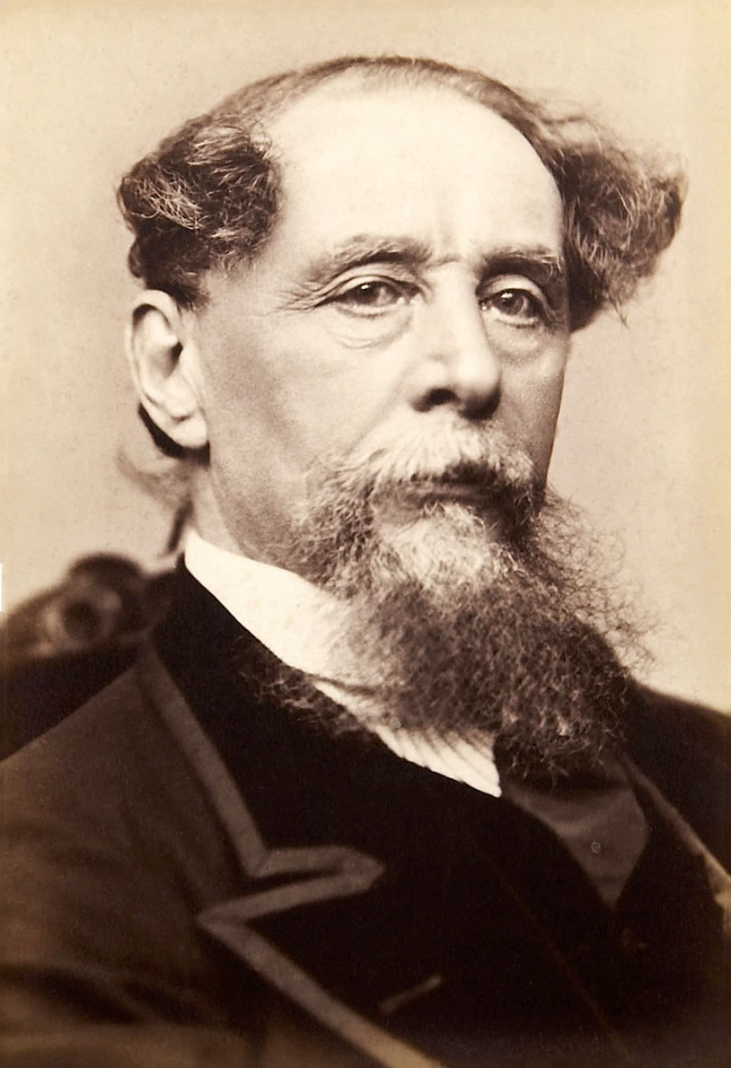Depiction of Charles Dickens