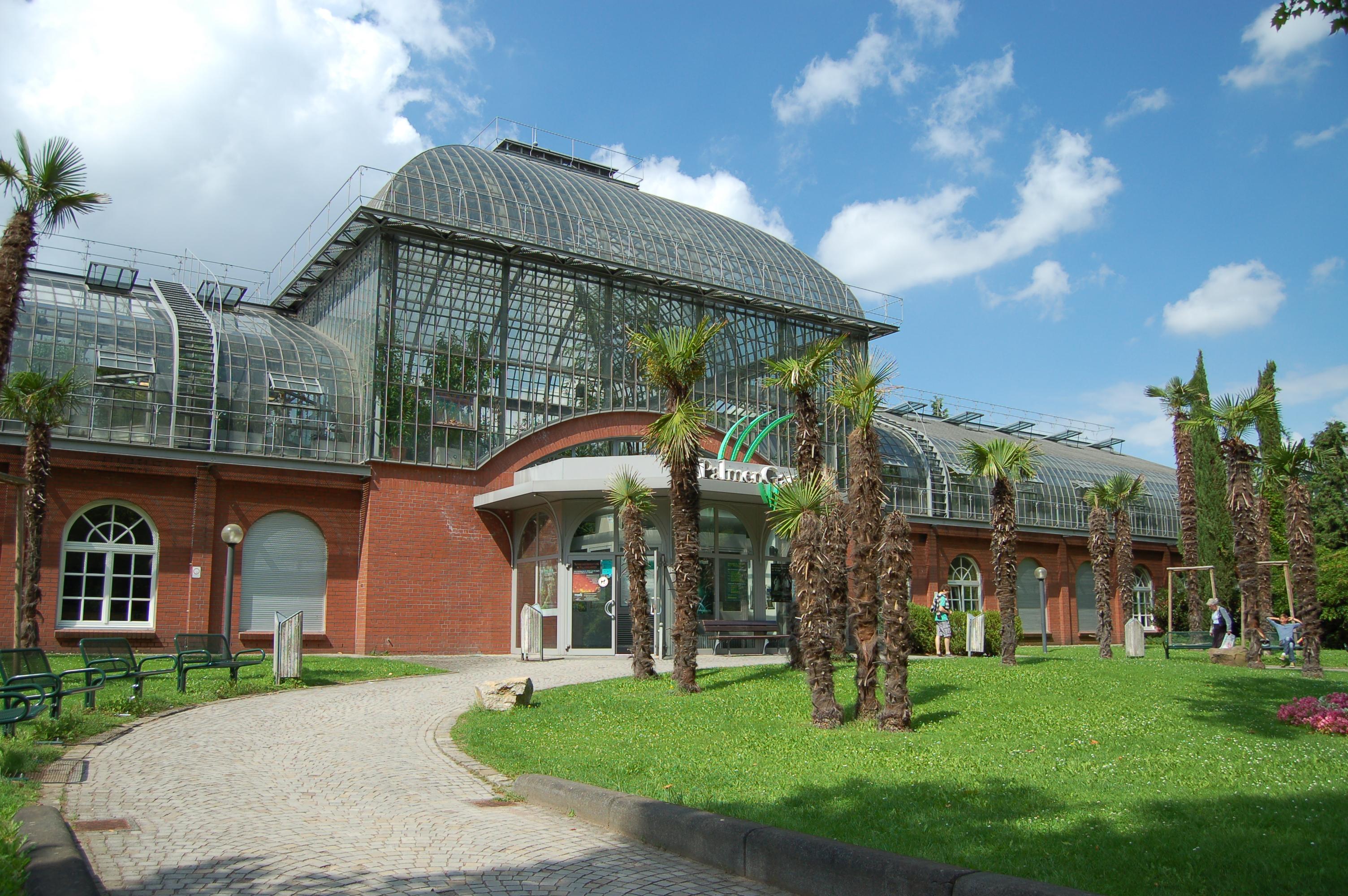 Beautiful Palmengarten Beautiful botanical garden Frankfurt Germany Visited here early
