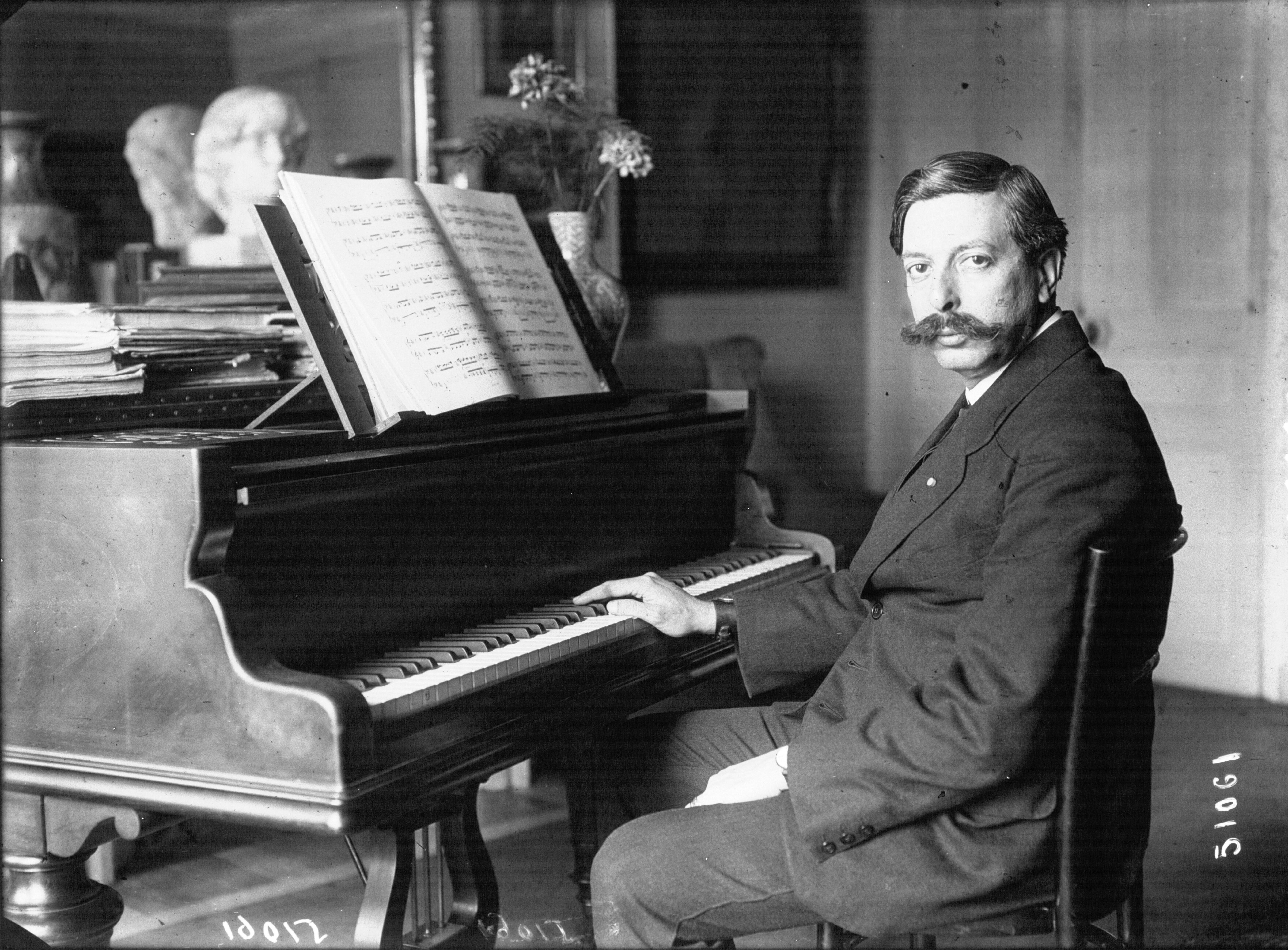 Enrique Granados en 1914