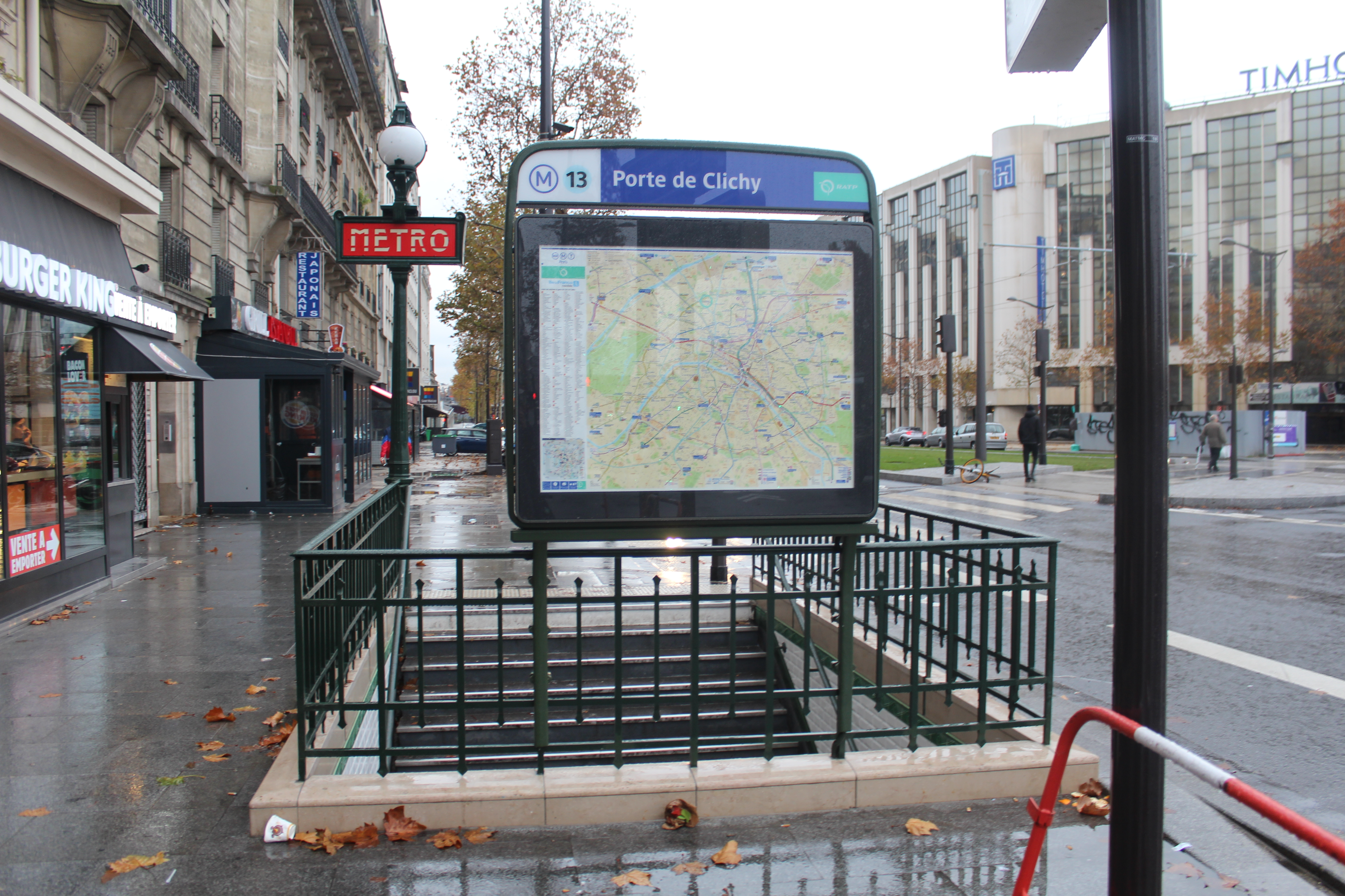 File Entree Station Metro Porte Clichy Paris 1 Jpg Wikimedia Commons