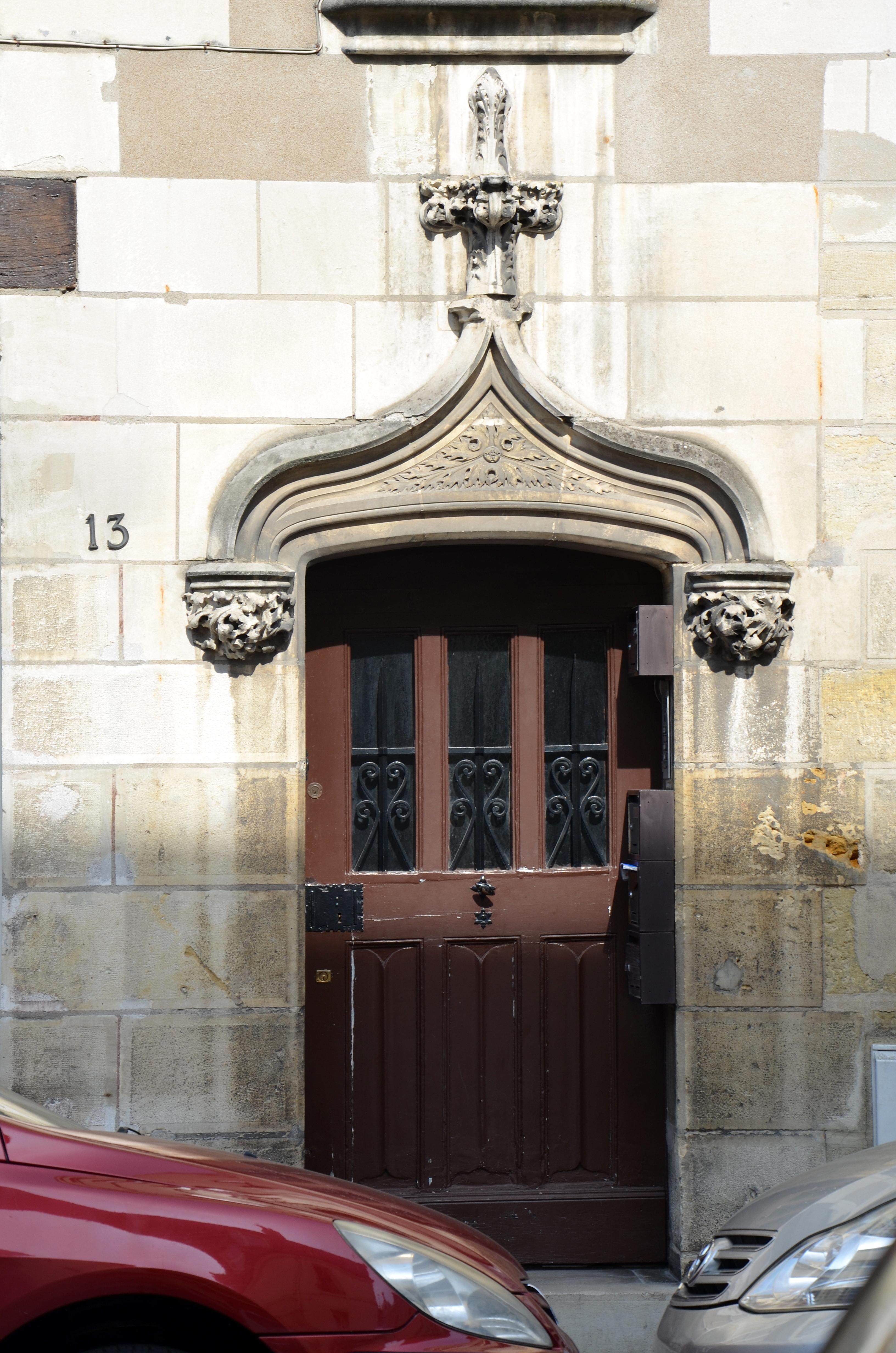 file entree de l 39 hotel particulier dit jean briconnet 13 rue du chateauneuf a tours dsc. Black Bedroom Furniture Sets. Home Design Ideas