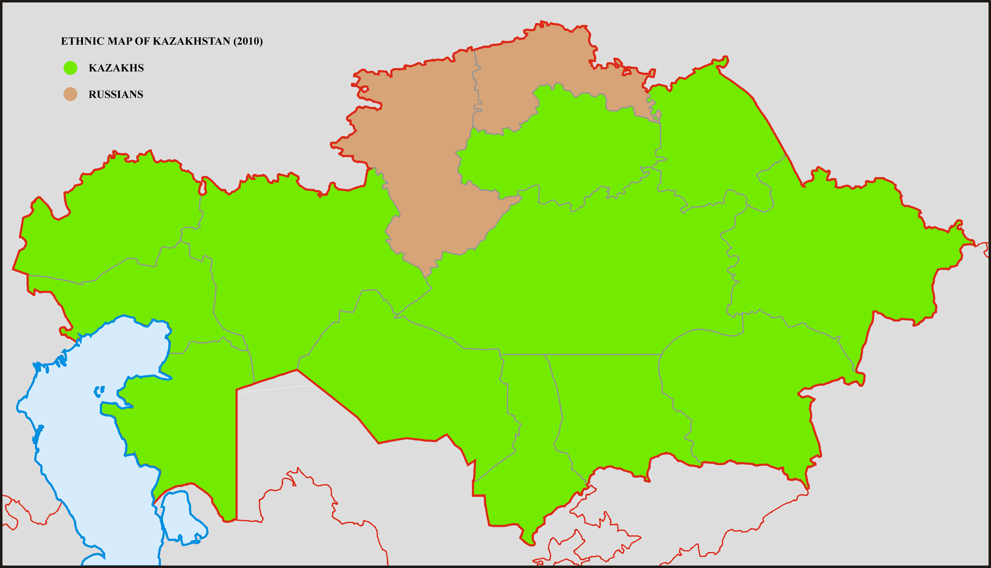 File:Ethnic map of Kazakhstan 2010.png - Wikimedia Commons