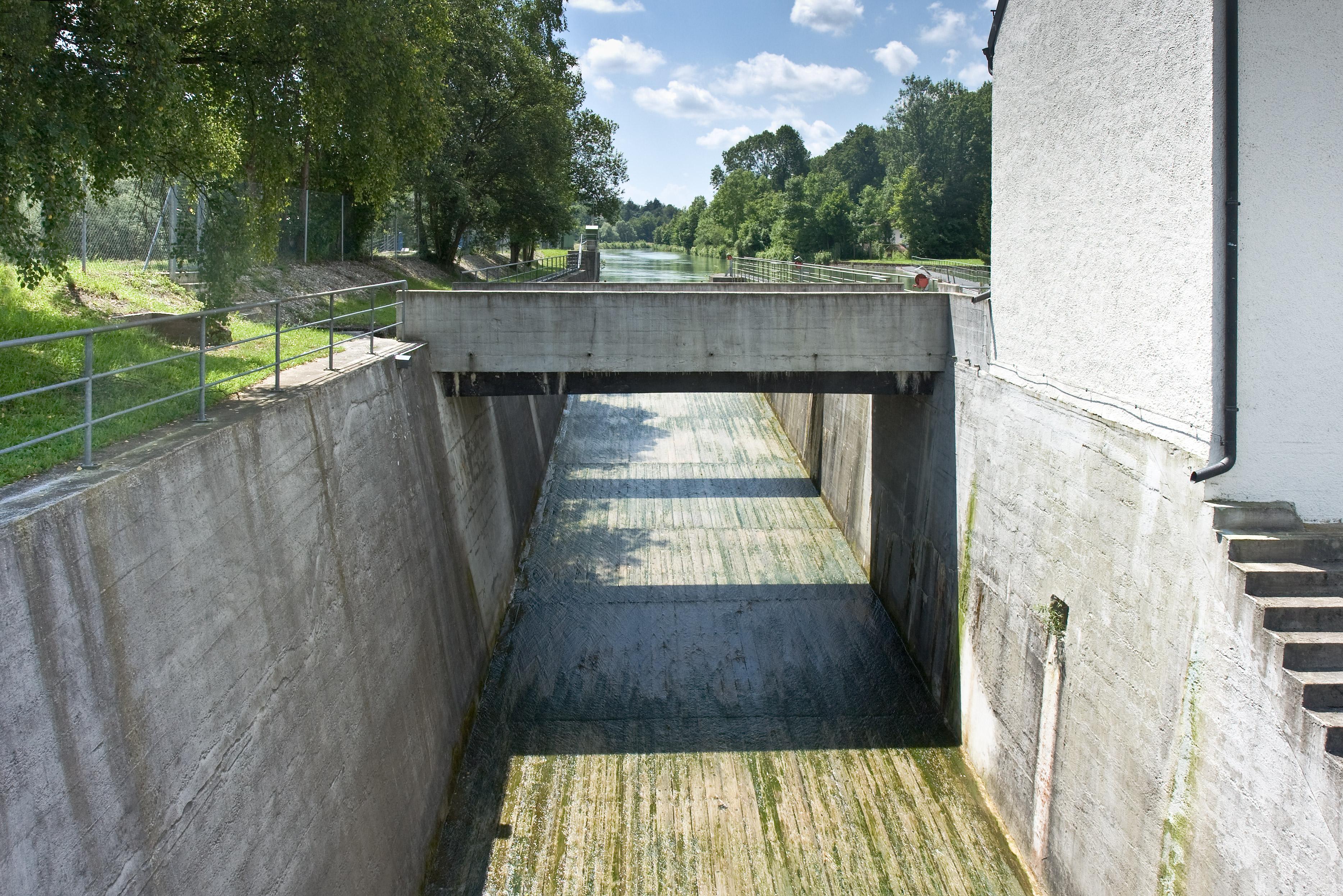 Wasserkraftwerk Pullach