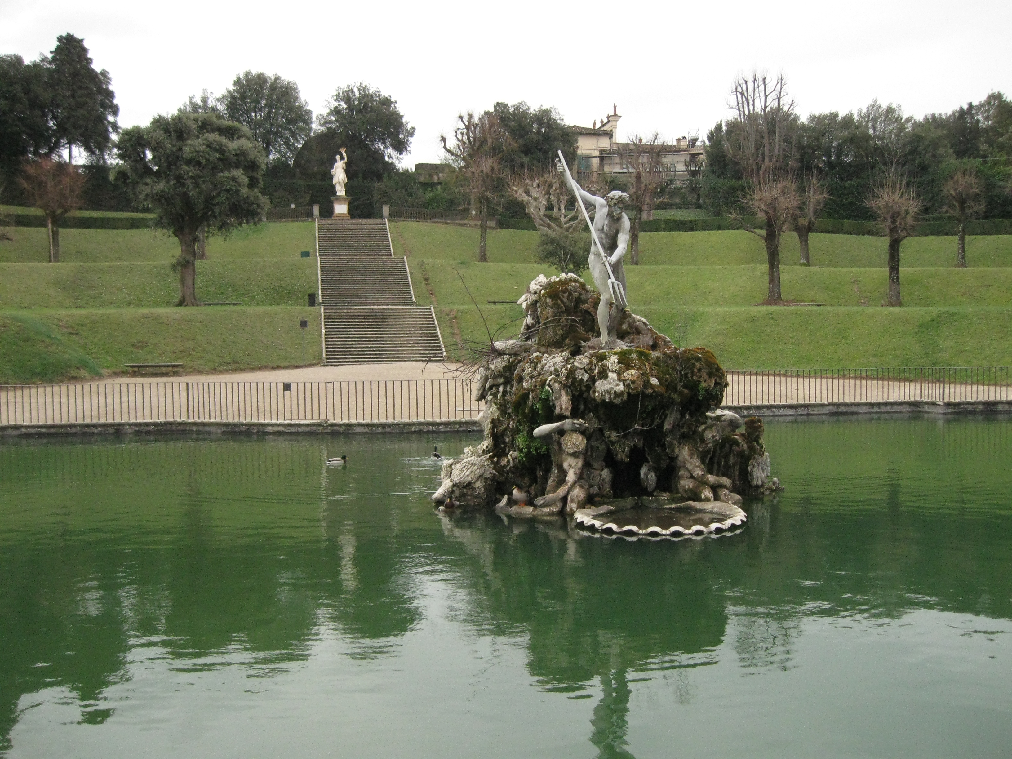 File:Fountain Of Neptune In The Boboli Garden 02   Firenze (Florence) Italy