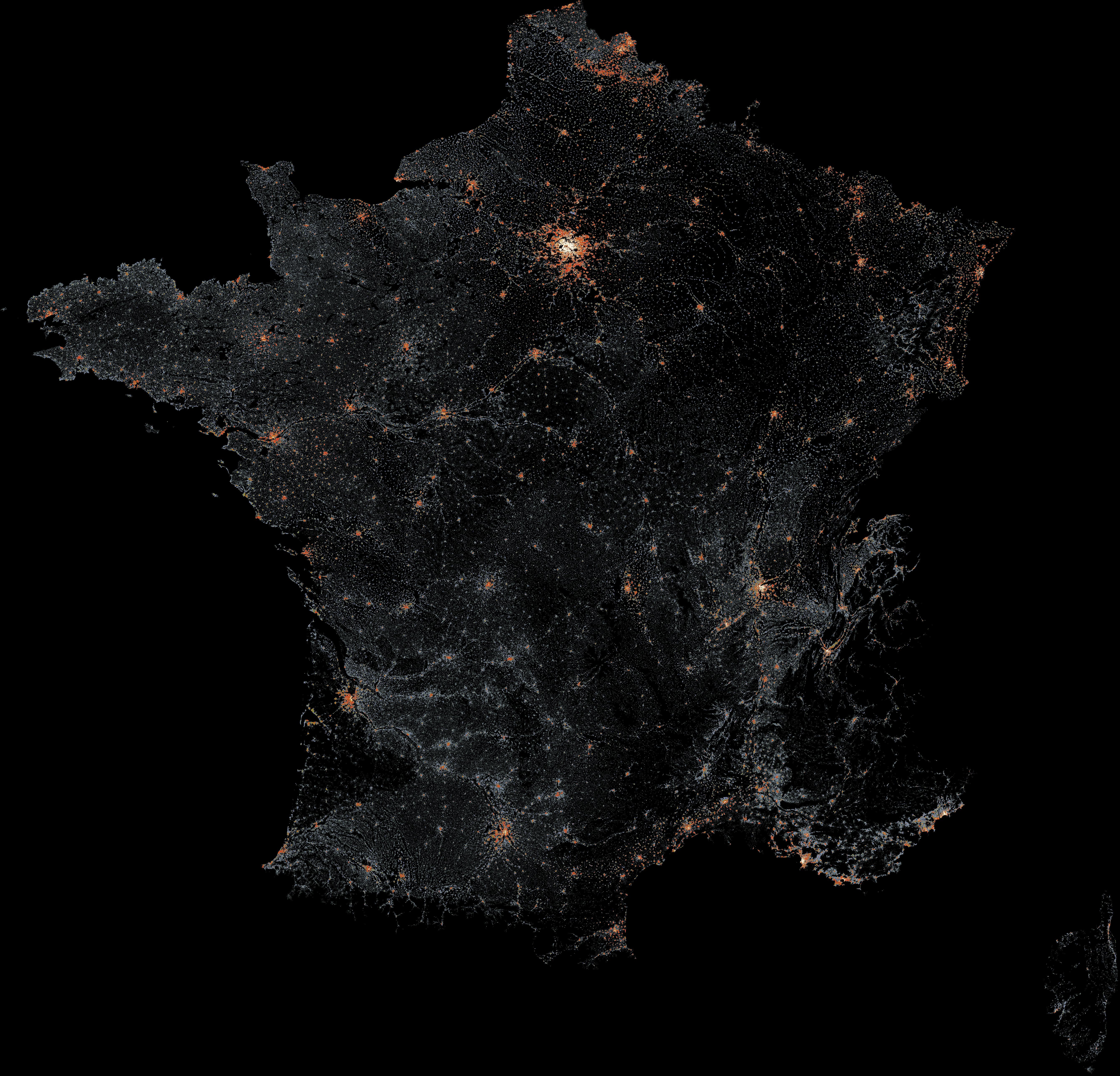 File:France - 2011 population density - 200 m × 200 m square grid ...