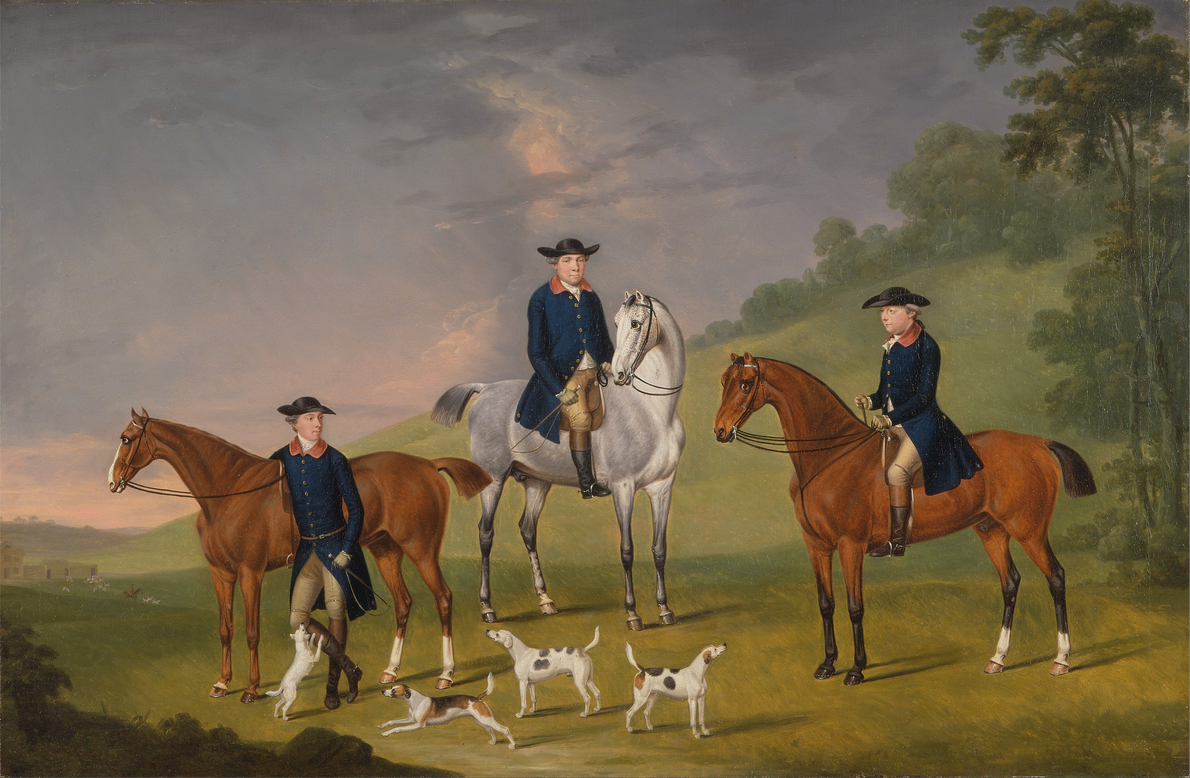 Antique Horse Painting For Sale