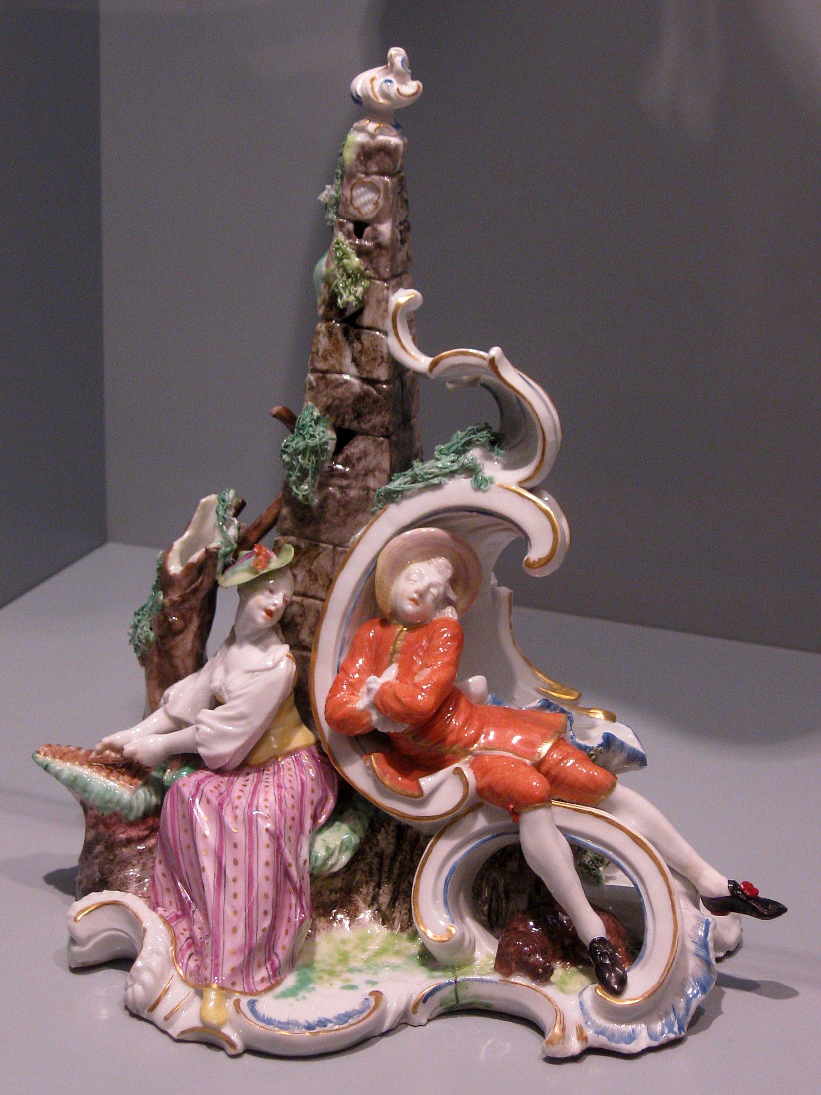 Porcelaine Objet Decoratif