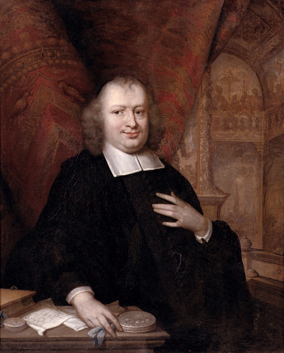 Gaspar Fagel, painted by Johannes Vollevens