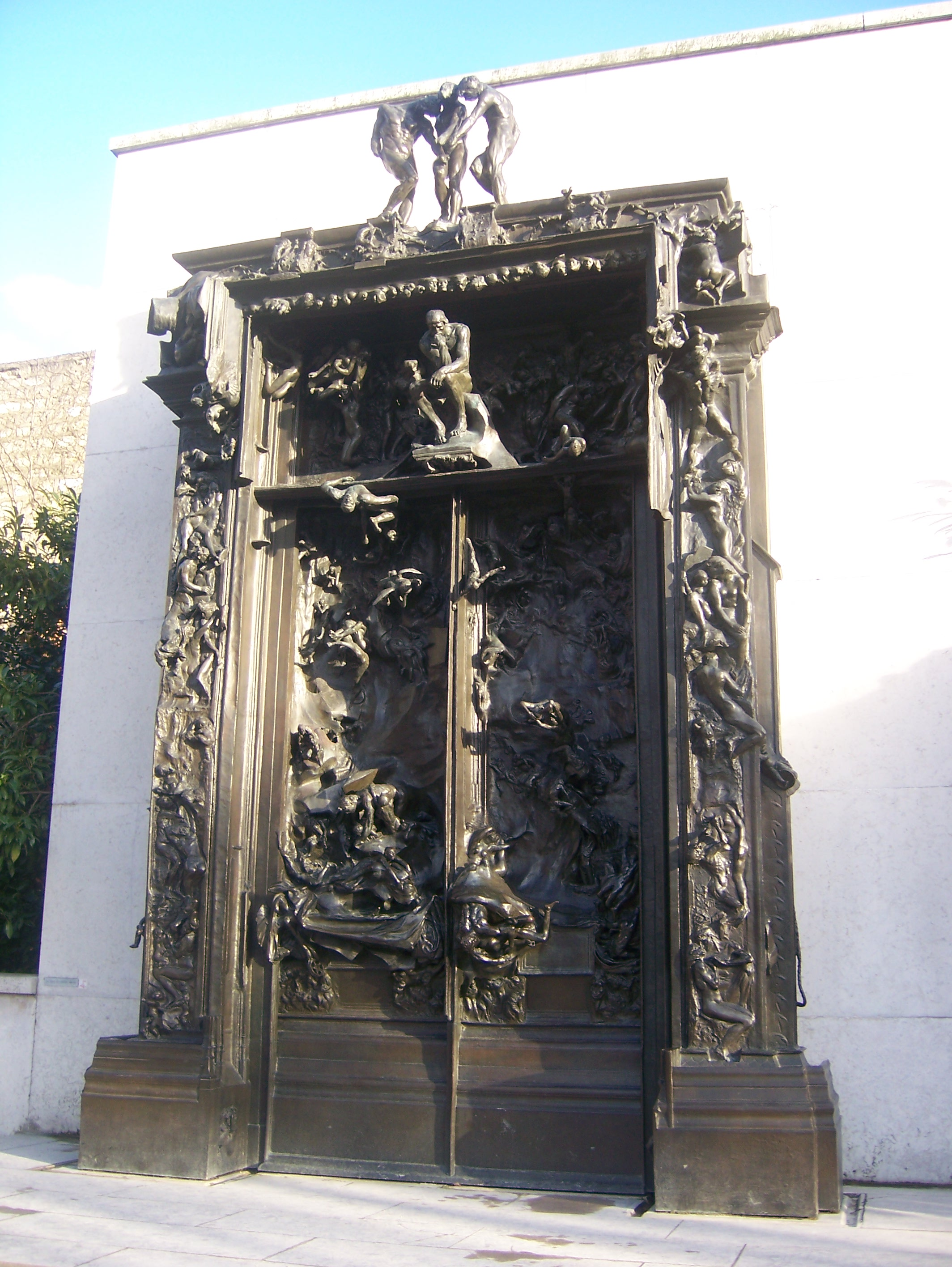 This artwork can be viewed at the following website: Rodin, The Gates of Hell