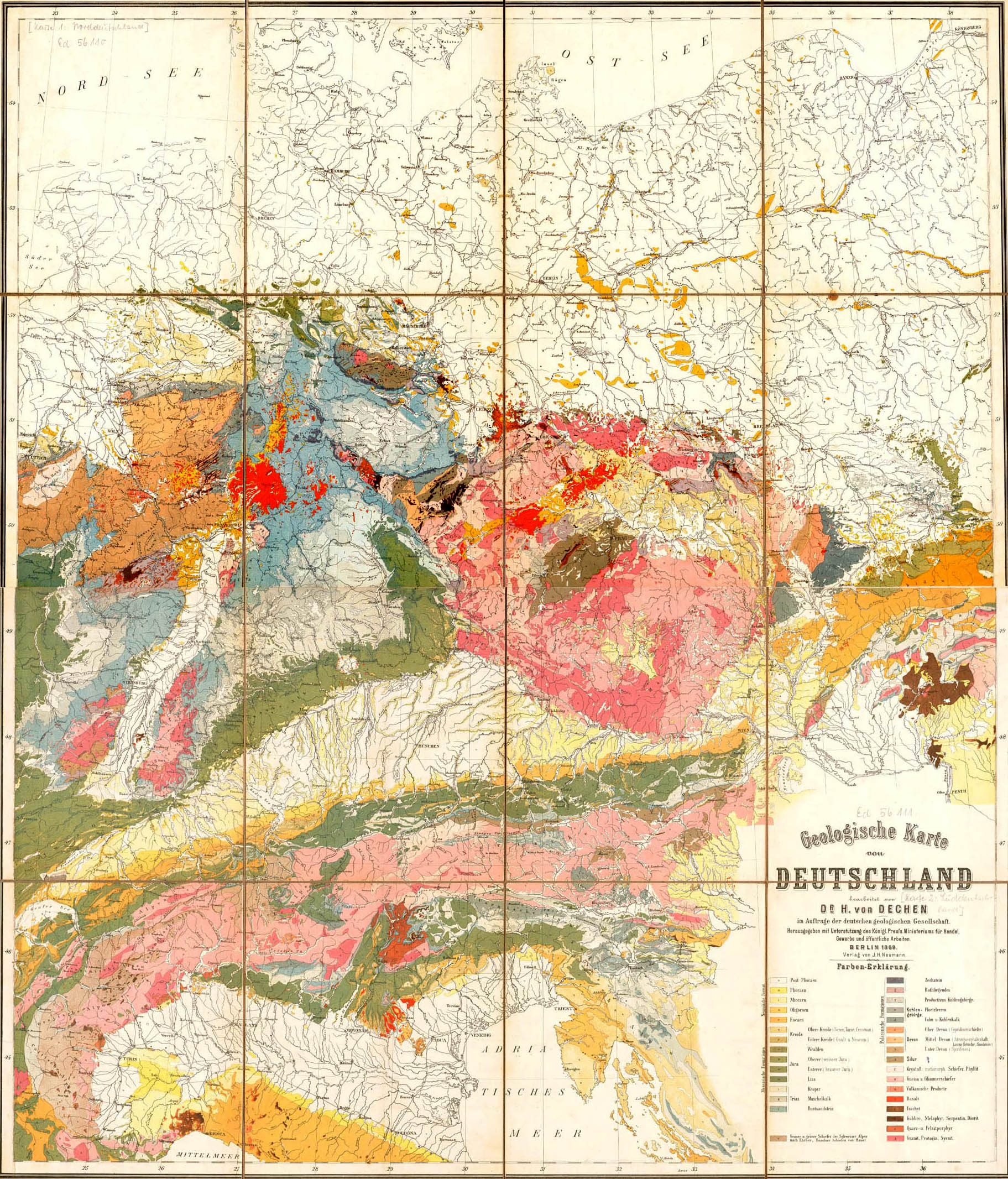 FileGeological map germany 1869jpg Wikimedia Commons
