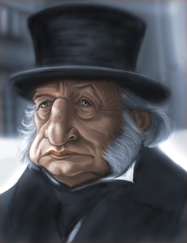 George c scott as scrooge