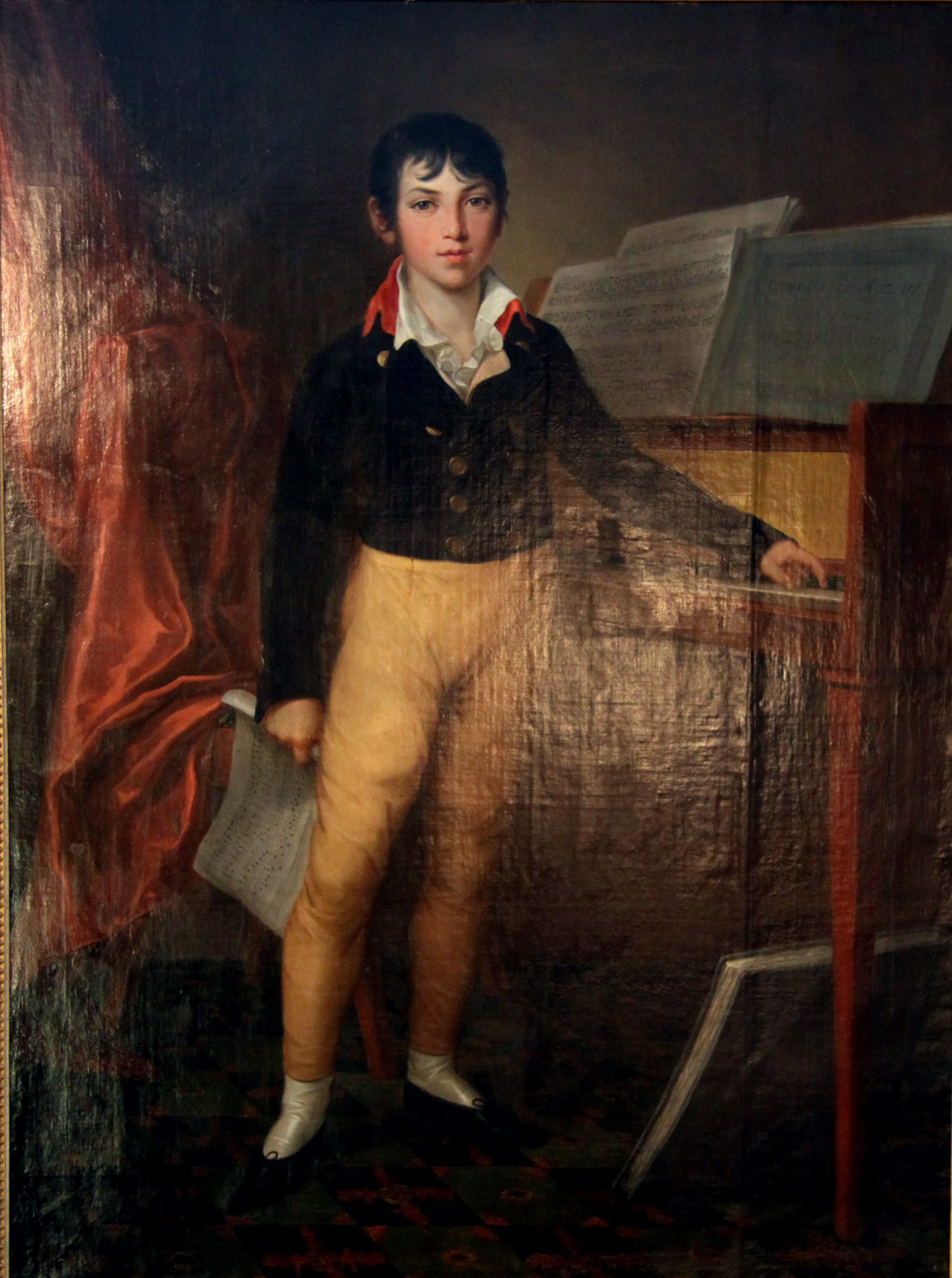 File Giacomo Meyerbeer As A Boy Painting By Friedrich