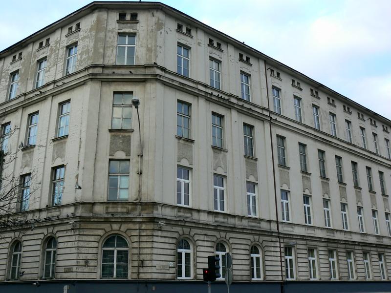 Budynek przedwojennych Koszar im. J. Piłsudskiego 28 Pułku Strzelców Kaniowskich