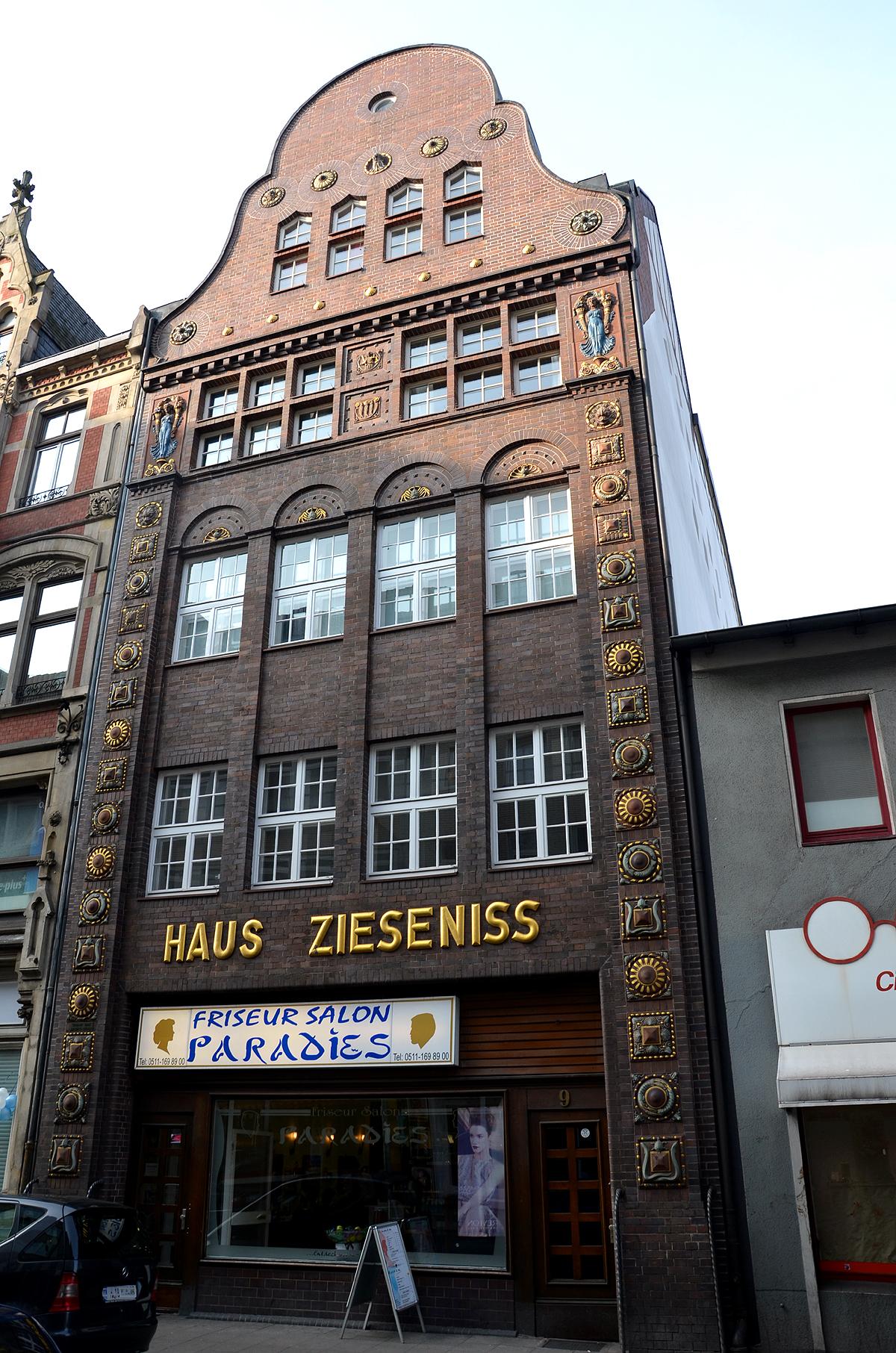 Architekt Hannover file haus zieseniss steintorstraße 9 in hannover 1913 14