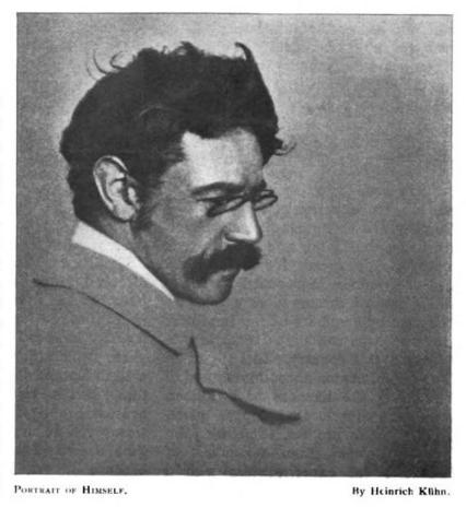 Image of Heinrich Kühn from Wikidata