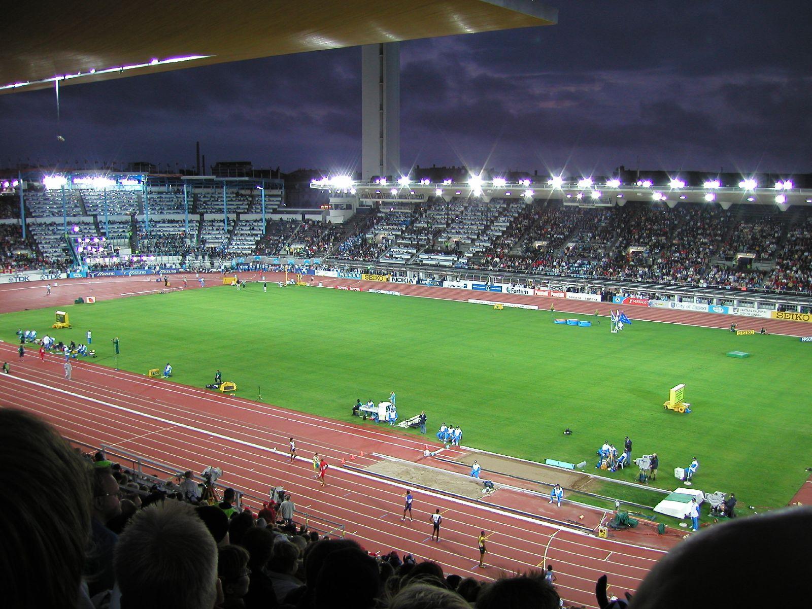 Olympiastadion Katsomokartta
