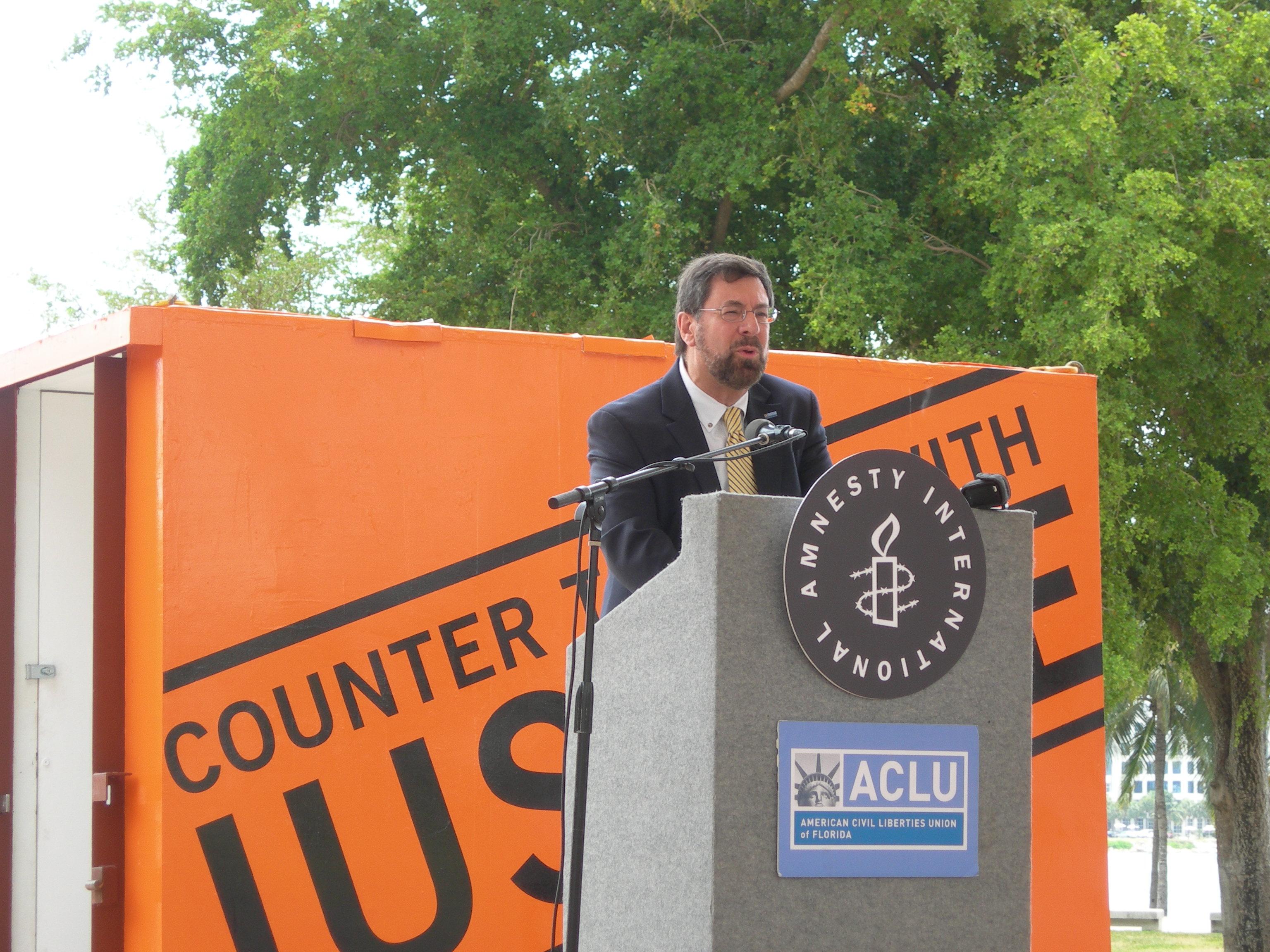 Howard Simon, ACLU of Florida Executive Direct...