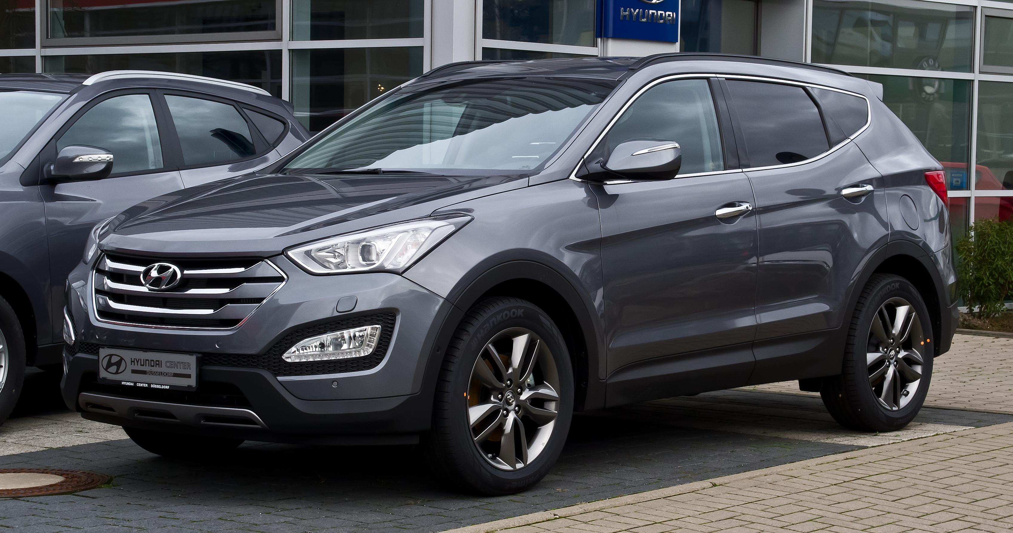 """Hyundai ix35 e """"Santa Fe"""": le novità del 2014 Kia Hyundai"""