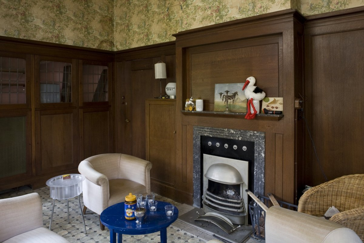 File:Interieur van de serre met jaren \'30 houten betimmering ...