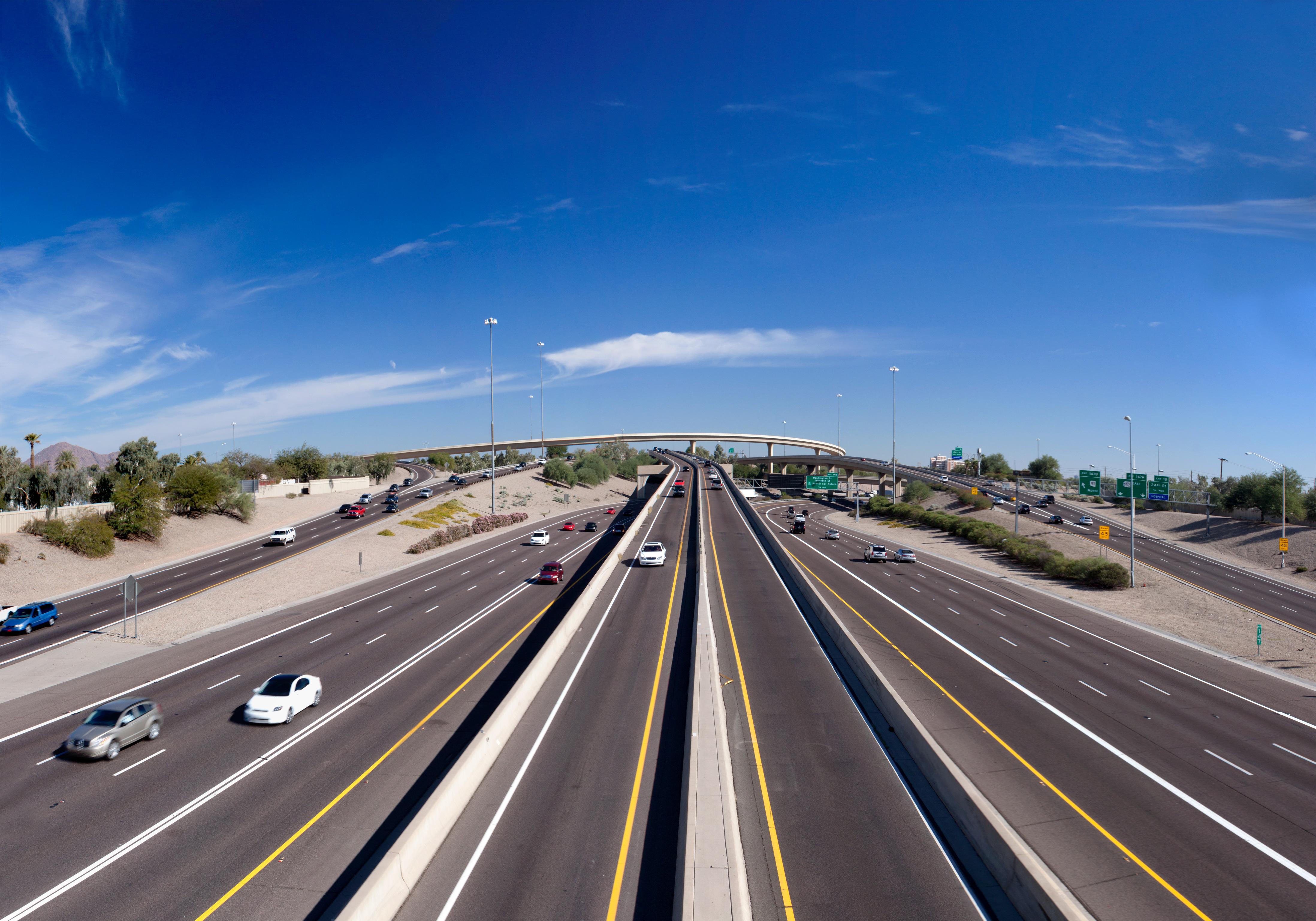 Map Of Arizona Freeway Shootings.Phoenix Freeway Shootings Wikipedia