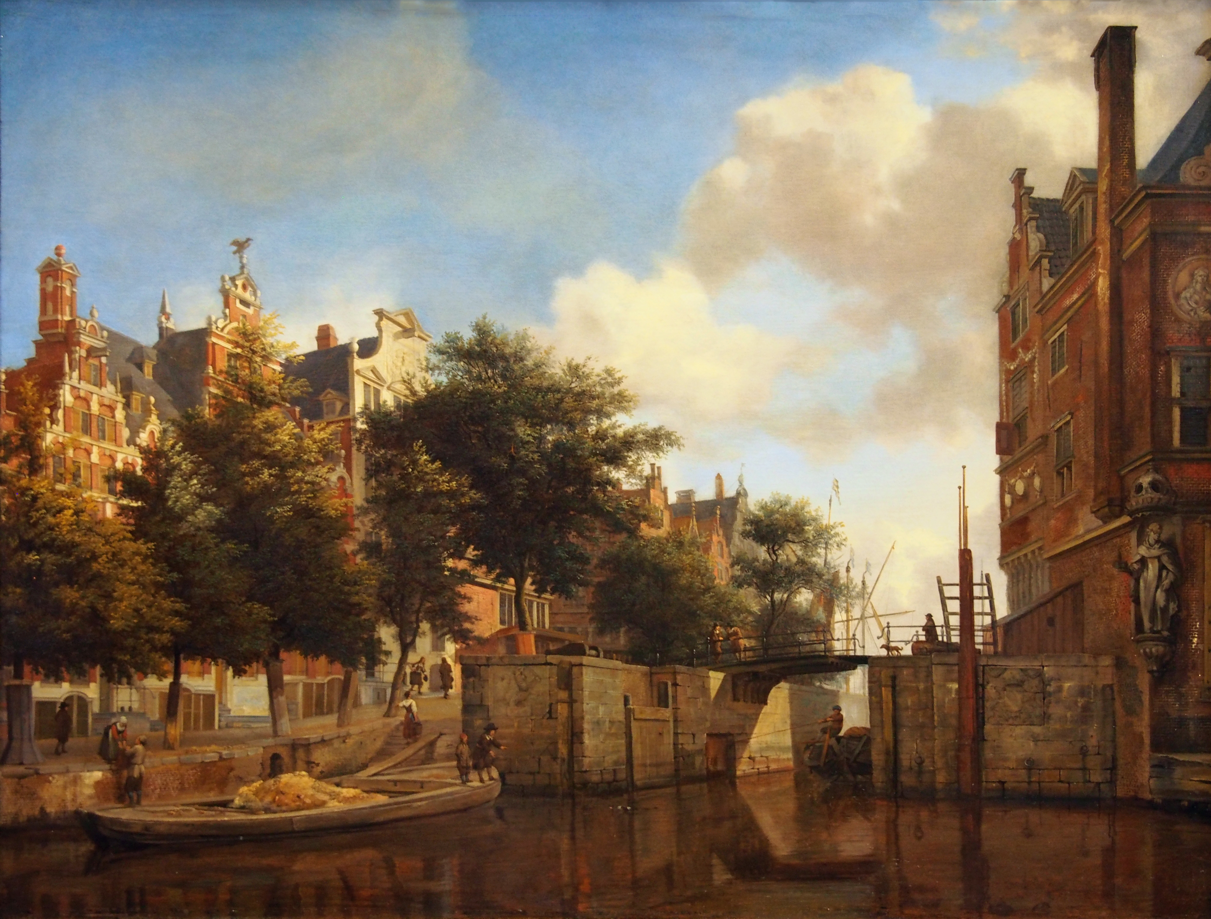 File jan van der heyden wikimedia commons for Herengracht amsterdam