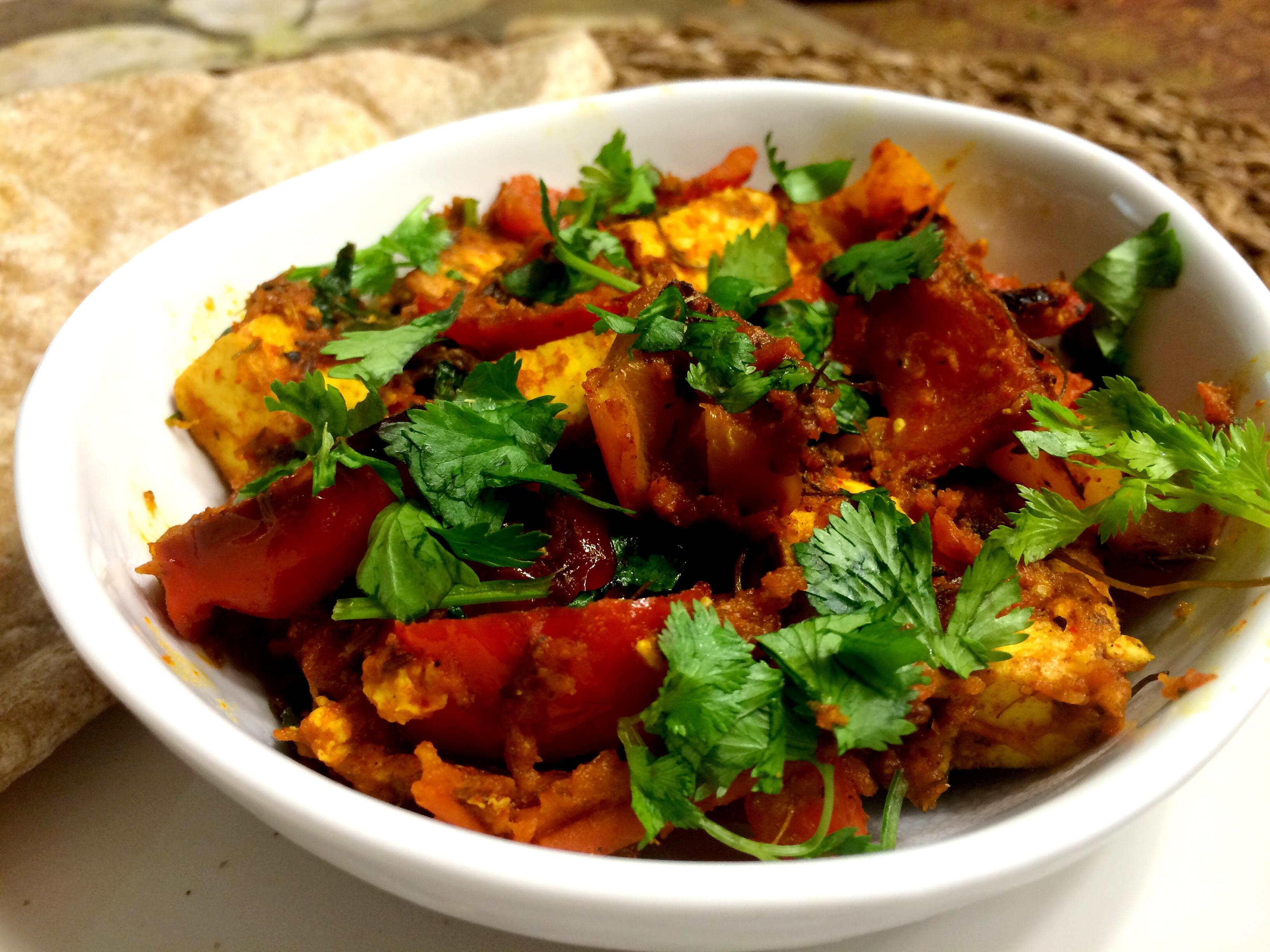Paneer Handi - popular dish in Indian restaurants in Hua Hin