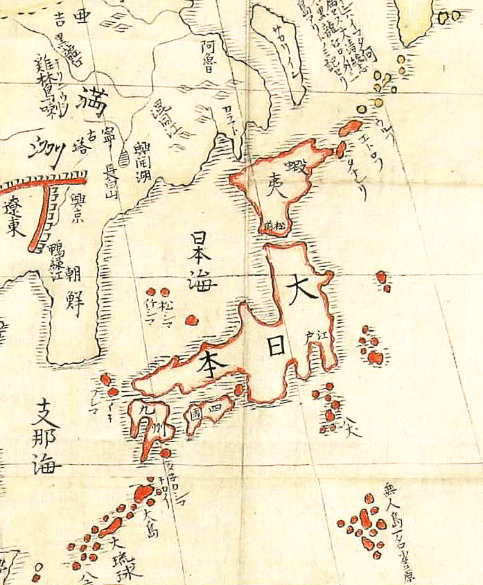 Map Of Japan 1600.History Of Japan Wikipedia
