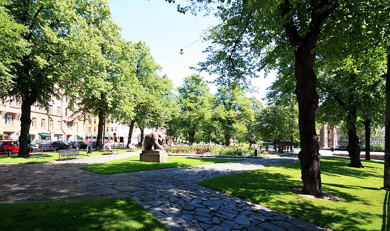 Karhupuisto Helsinki