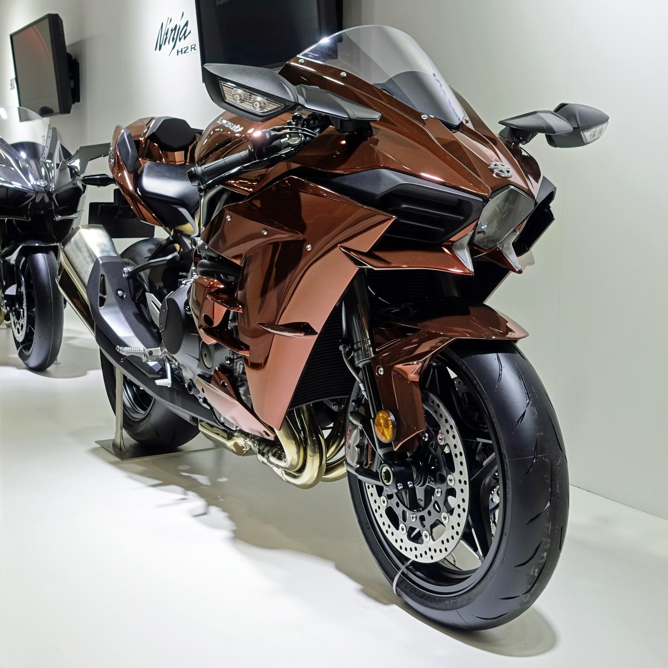 FileKawasaki Ninja H2 At The Tokyo Motor Show 2015 1