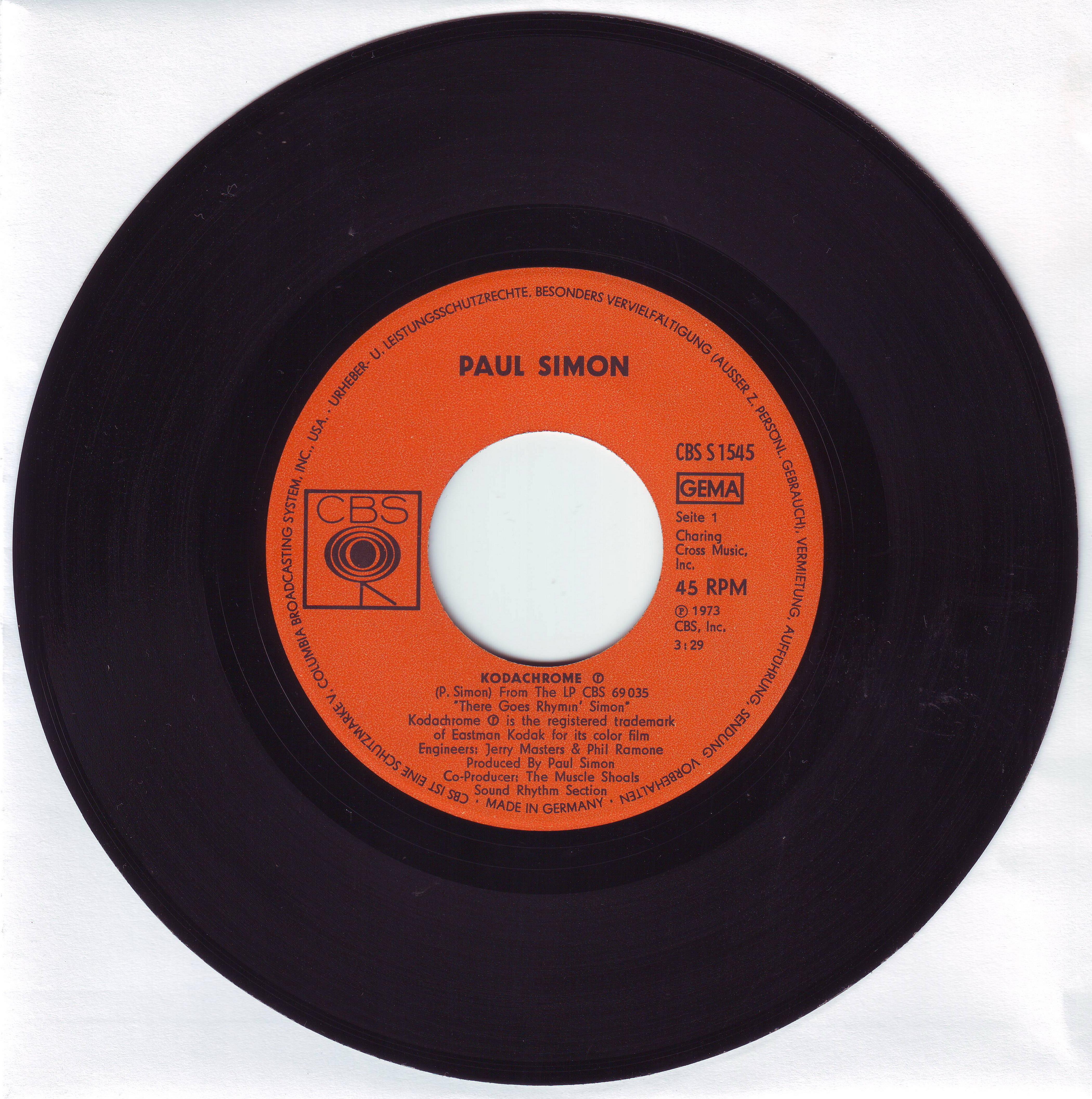 File Kodachrome Paul Simon Vinyl Record Jpg Wikimedia