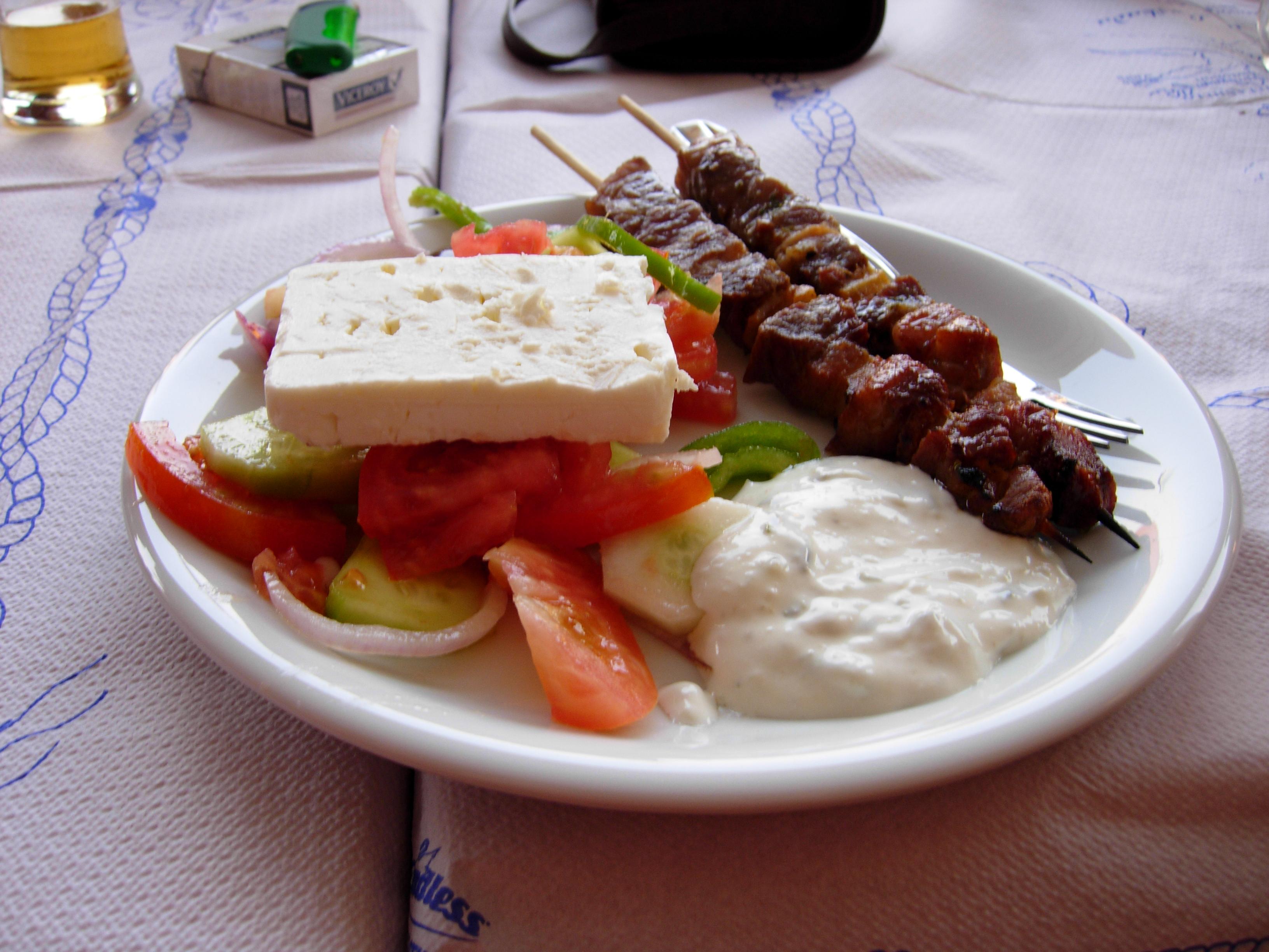 File:Lamb souvlaki, Lefkada.JPG - Wikimedia Commons