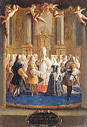 File:Le Mariage de Louis XV et de Marie Lecszinka dans la chapelle de Fontainebleau le 5 septembre 1725, Anon.jpg