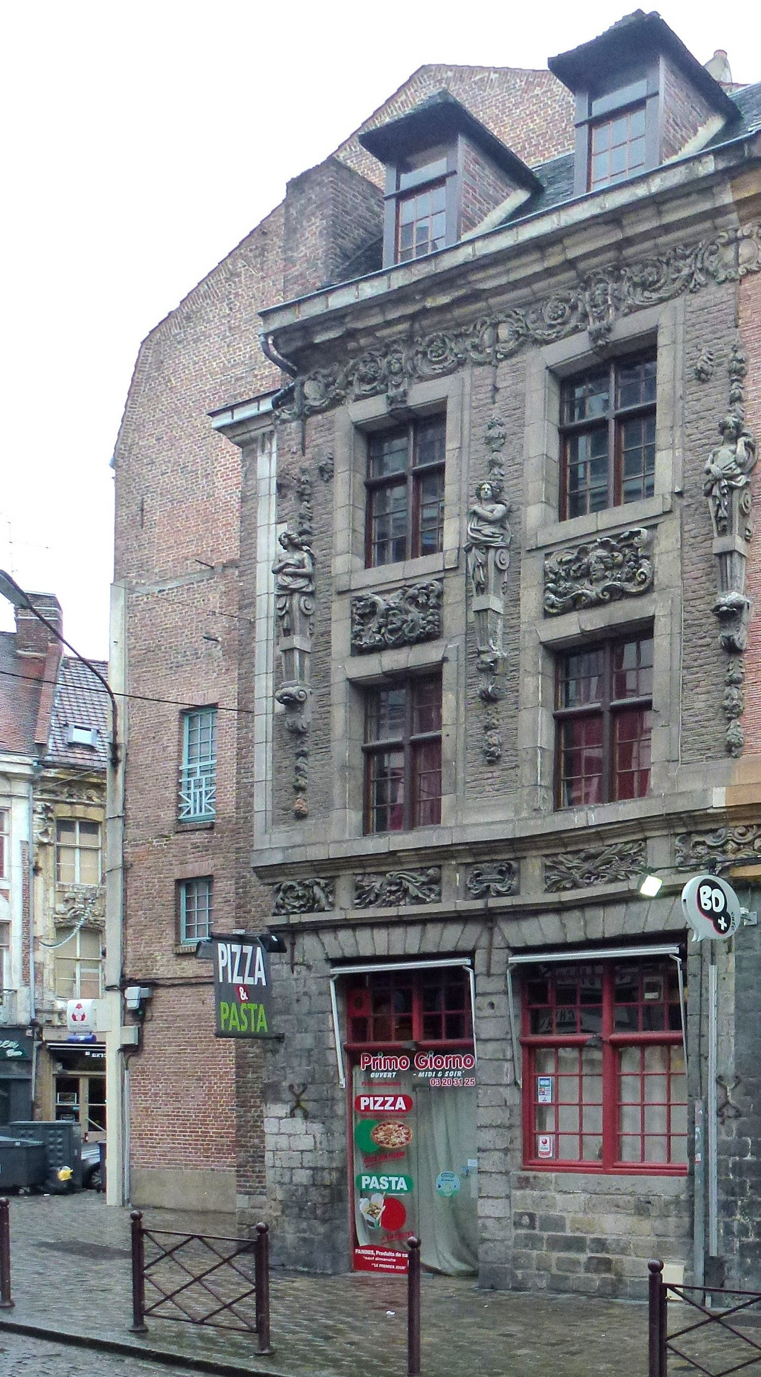 Fichier lille maison 1 rue royale wikip dia for 82 rue brule maison lille